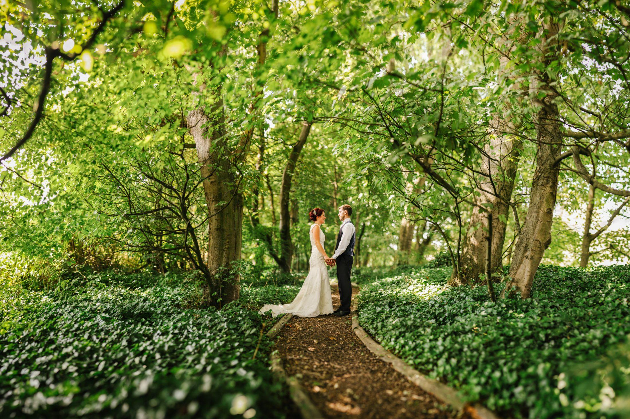 Sarah & Allan - Woodlands Wedding Photography Leeds