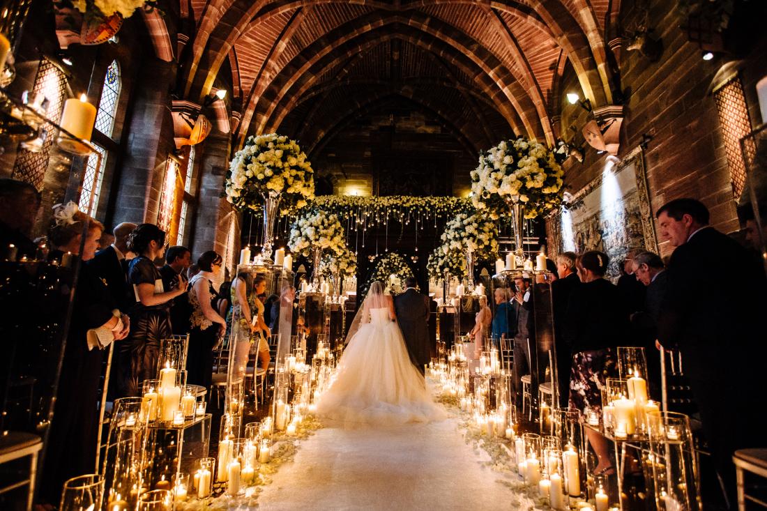 Katie & Joe - Peckforton Castle Wedding Photographers