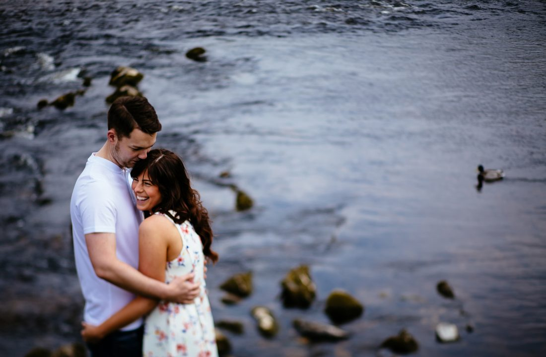 Jo & Josh - Bolton Abbey Engagement