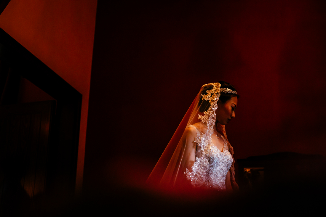 Sonia & Vincent - Peckforton Castle Wedding Photography Cheshire