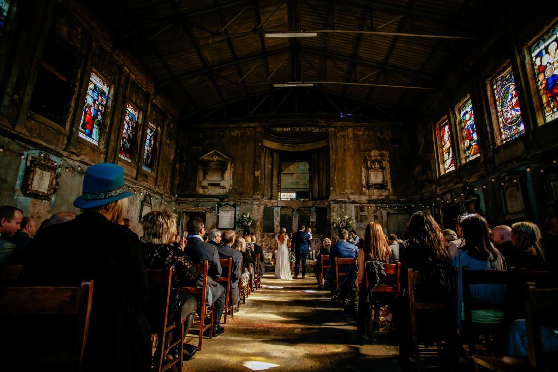 Lucy & Claude - St John London Wedding