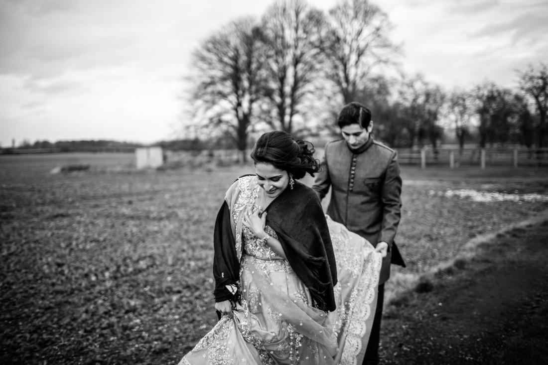 Mekhala & Gareth - Barmbyfield Barn Wedding