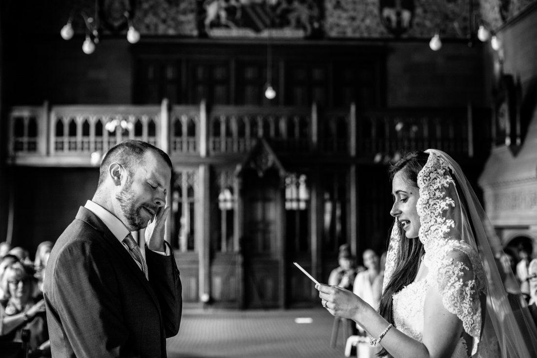 Kelly & Matt - Manchester Town Hall Wedding Photography