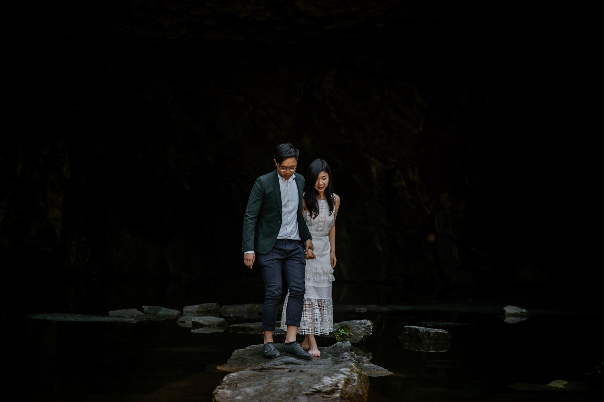 Christina & Paul - Lake District Engagement Shoot