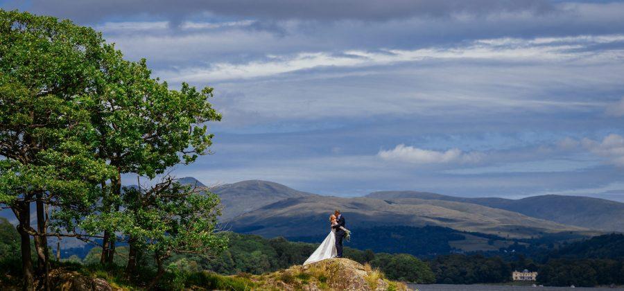Jess & Mark - Silverholme Manor, Lake District Wedding