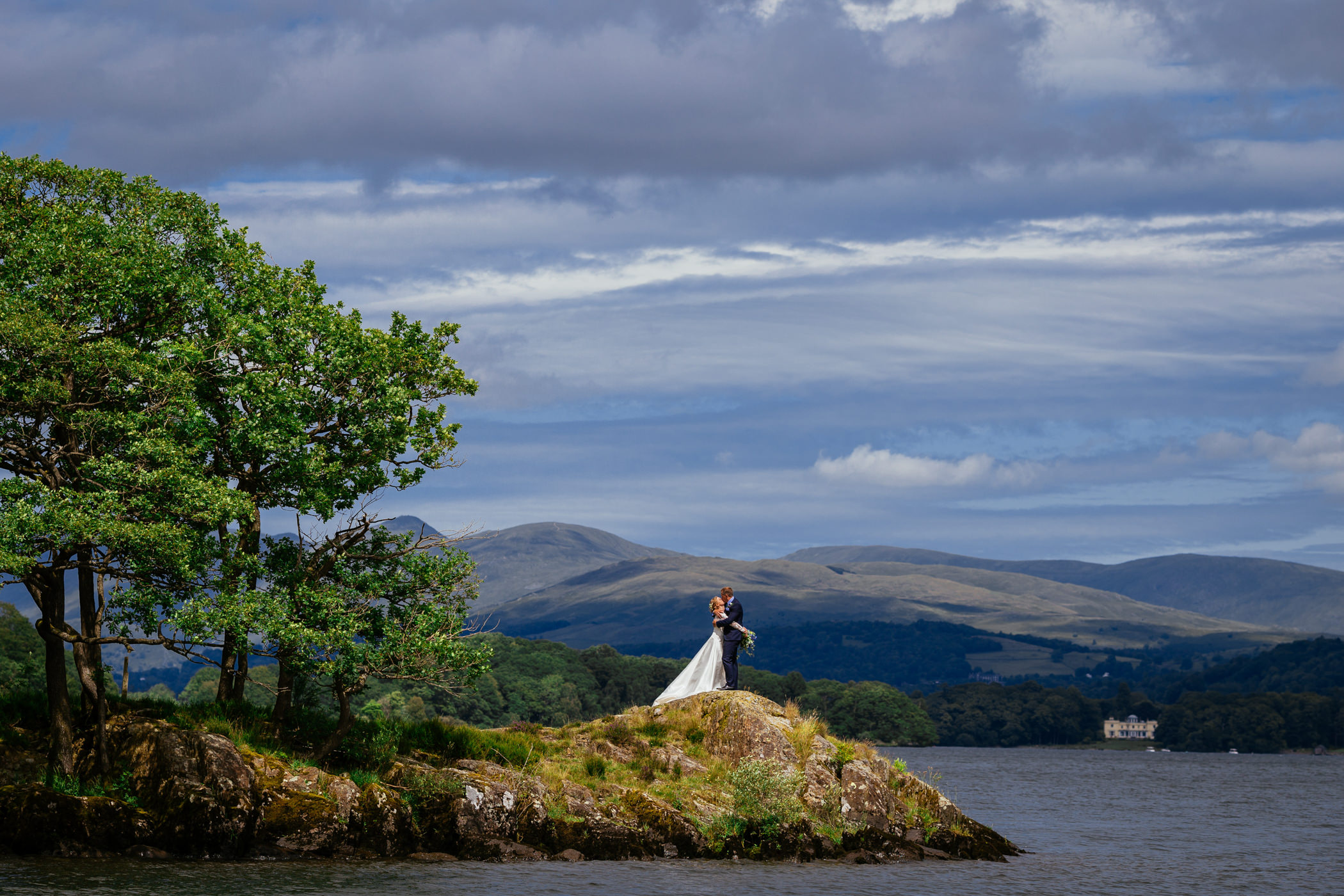 Jess & Mark - Silverholme Manor, Lake District Wedding
