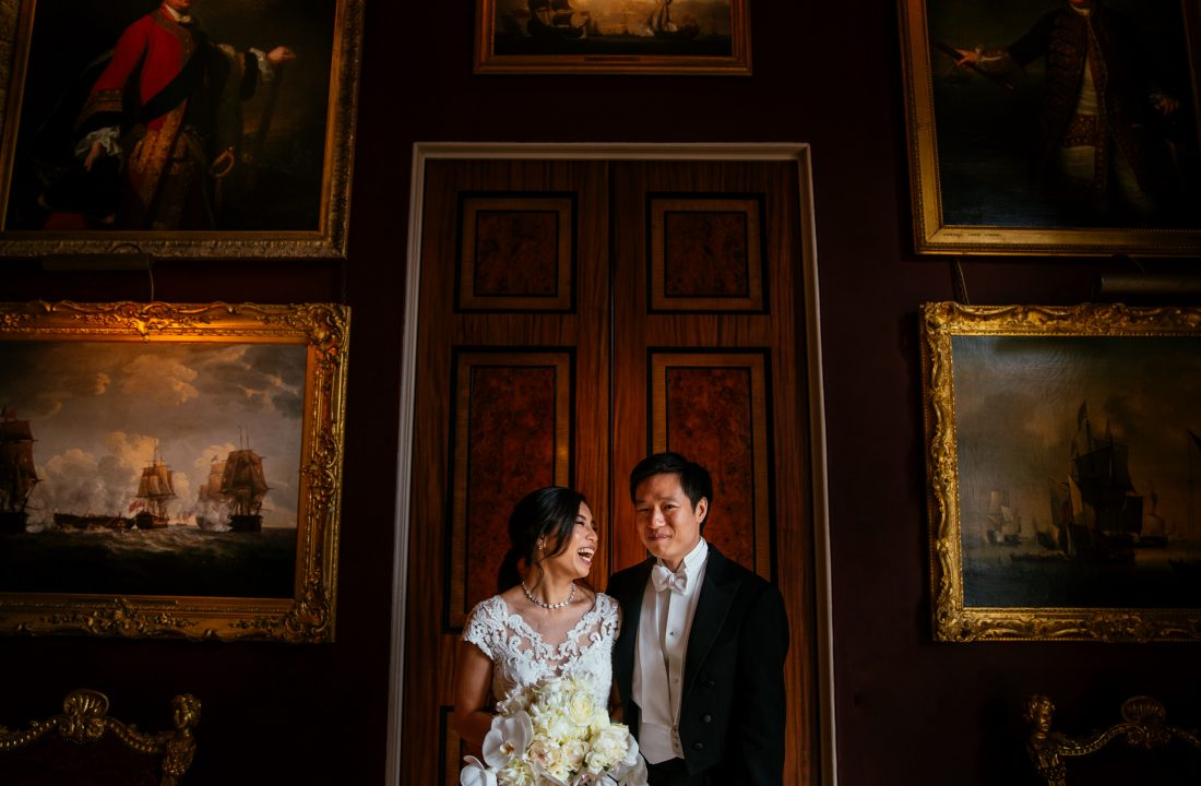 Nikki & Adrian - Goodwood House Wedding