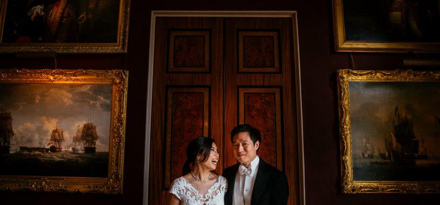 Nikki & Adrian - Goodwood House Wedding