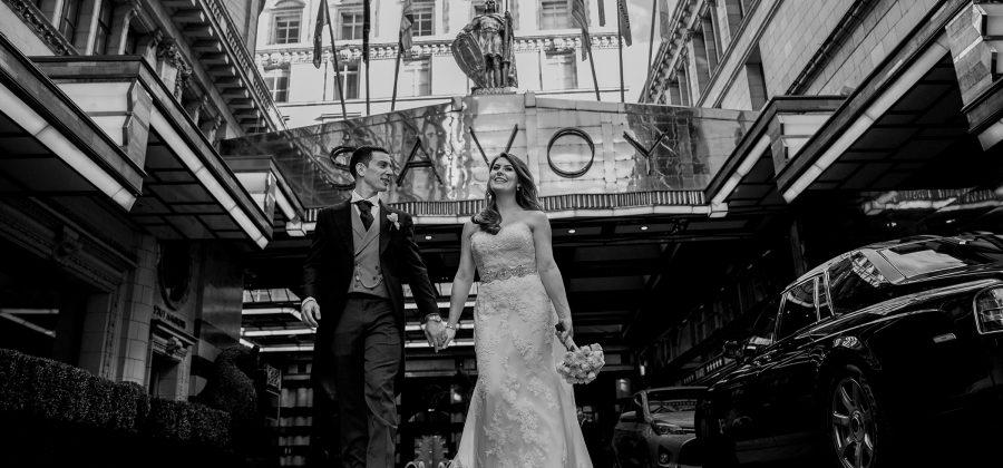 Laura & Henry - The Savoy Hotel Wedding London