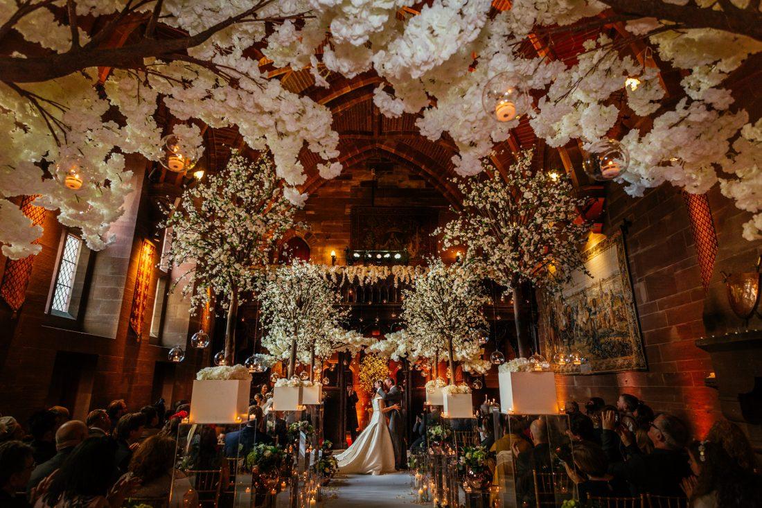 Jum & Mark - Peckforton Castle Wedding