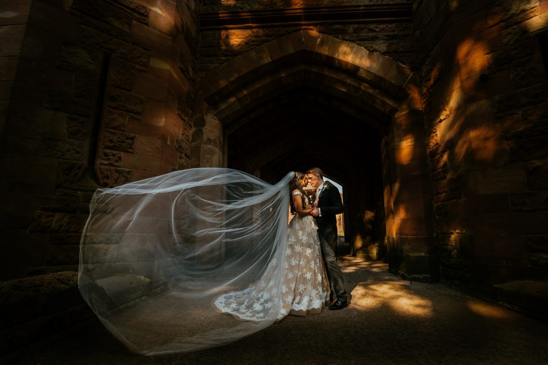 Laura & Ash - Peckforton Castle Wedding Photography
