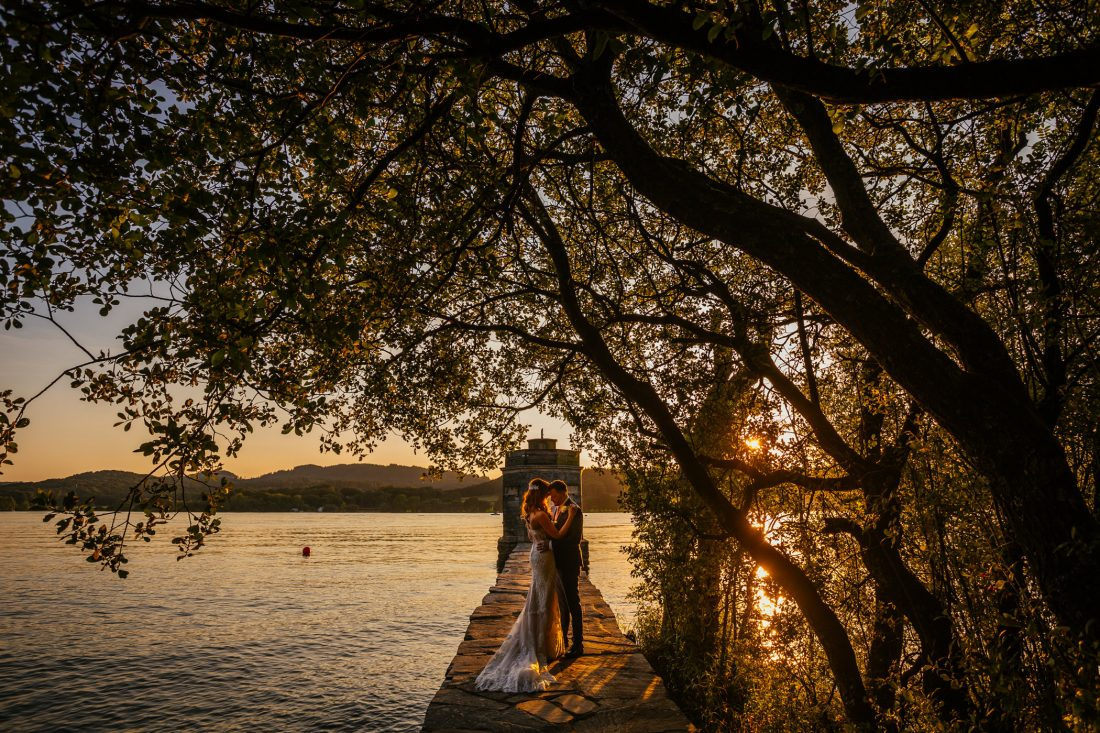 Lucy & Dan - Storrs Hall Wedding Photography Lake District