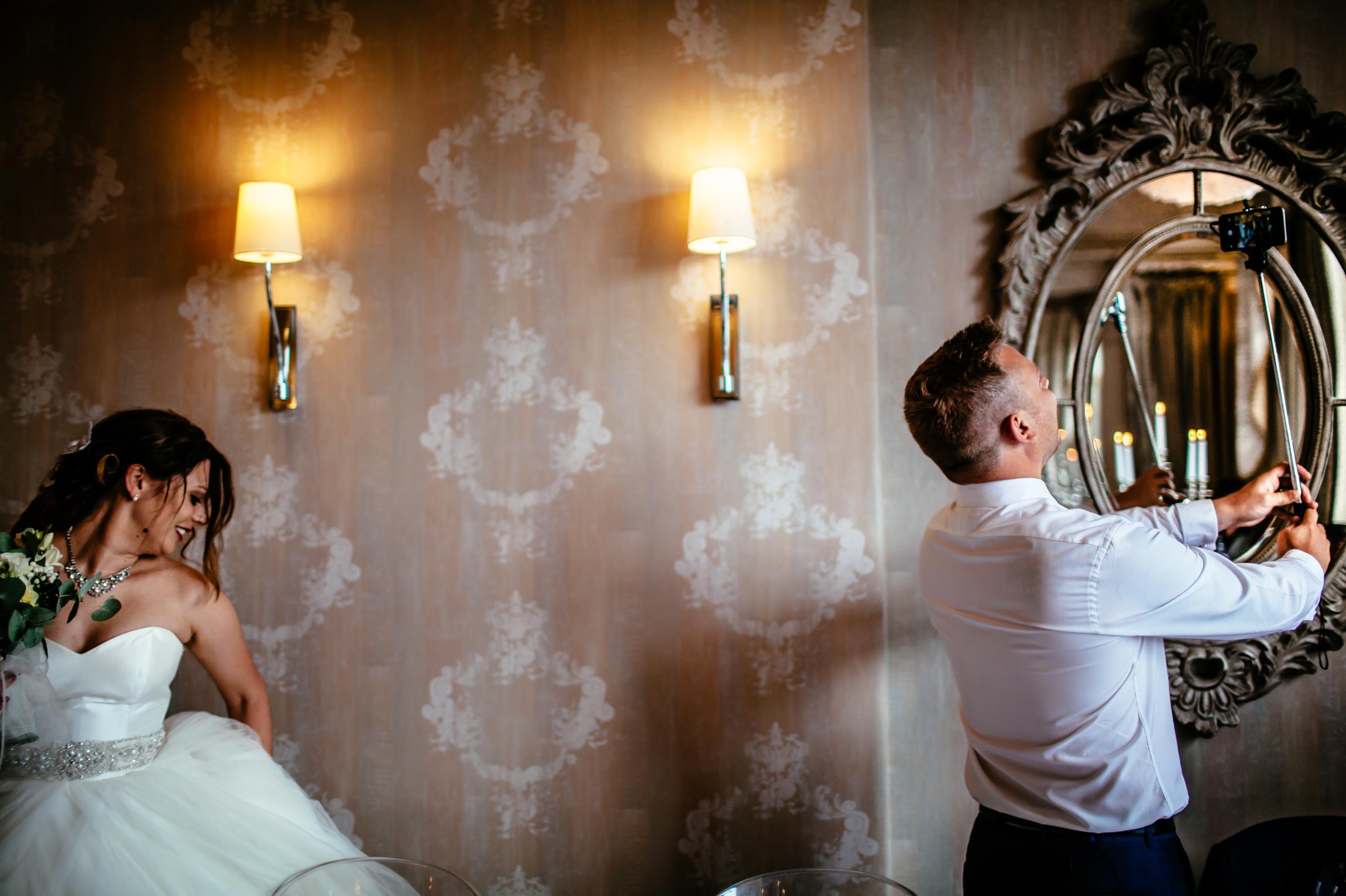 Holly & Mark - Falcon Manor wedding photography Sansom Photography-38