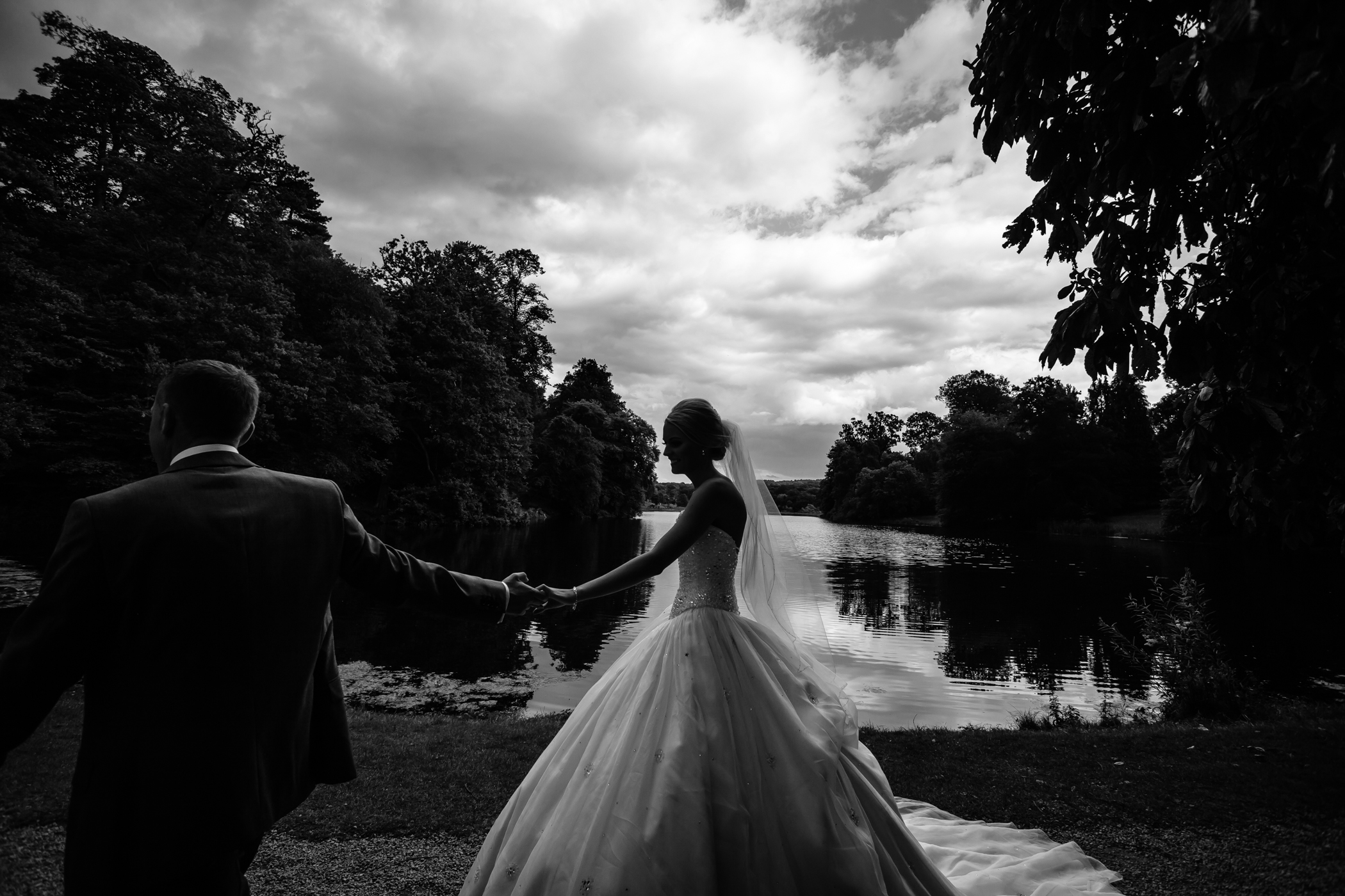 Lisa & Neil - Sansom Photography Harewood House Yorkshire Wedding Photography-32