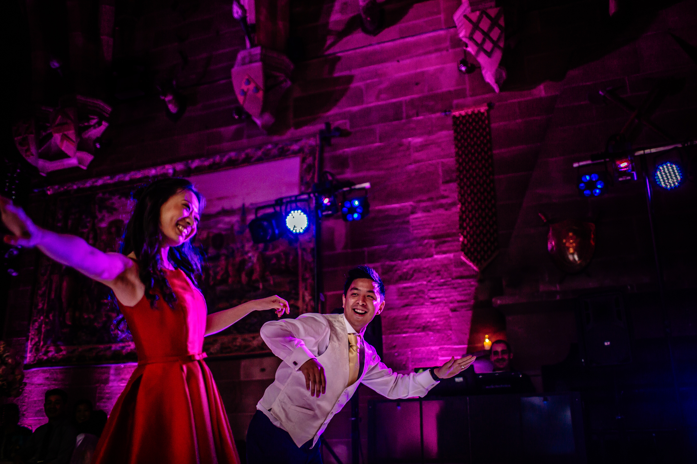 Sonia & Vincent - Sansom Photography Peckforton Castle Wedding Photography-11