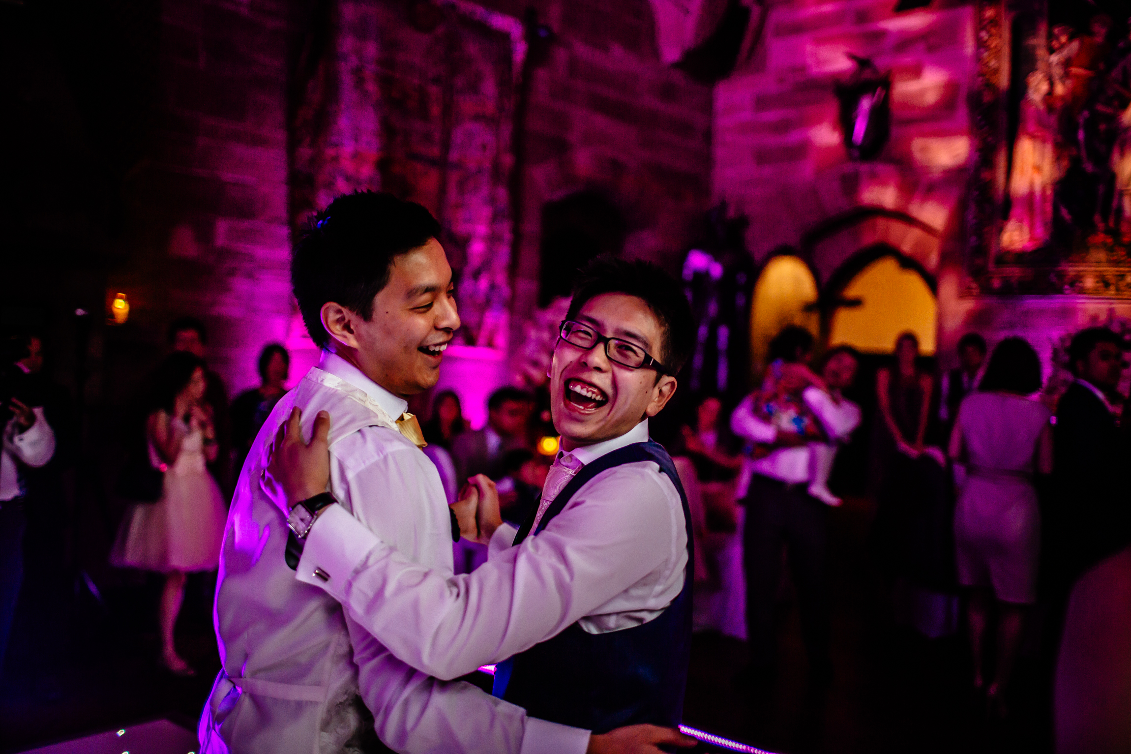 Sonia & Vincent - Sansom Photography Peckforton Castle Wedding Photography-12