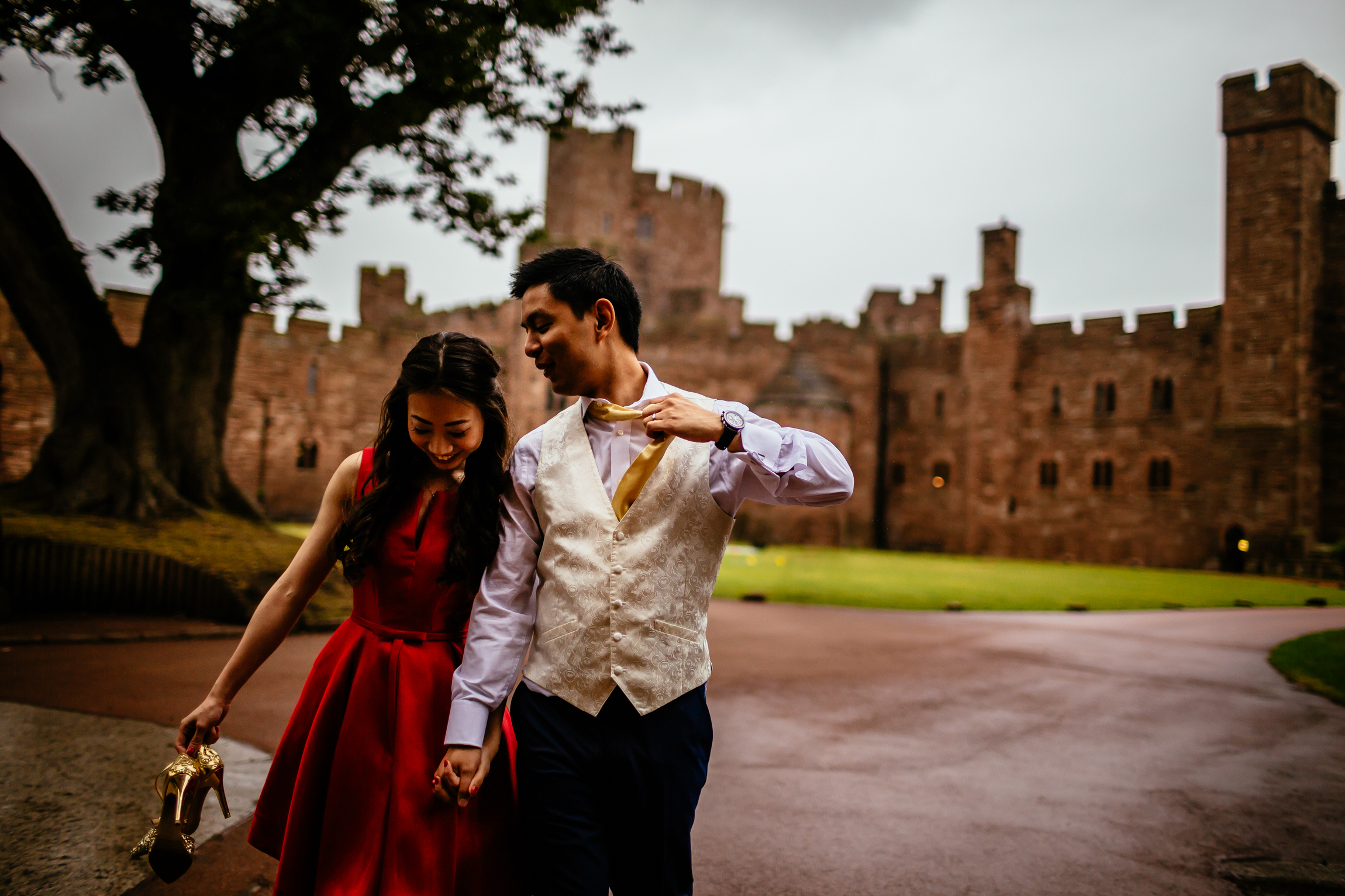 Sonia & Vincent - Sansom Photography Peckforton Castle Wedding Photography-15