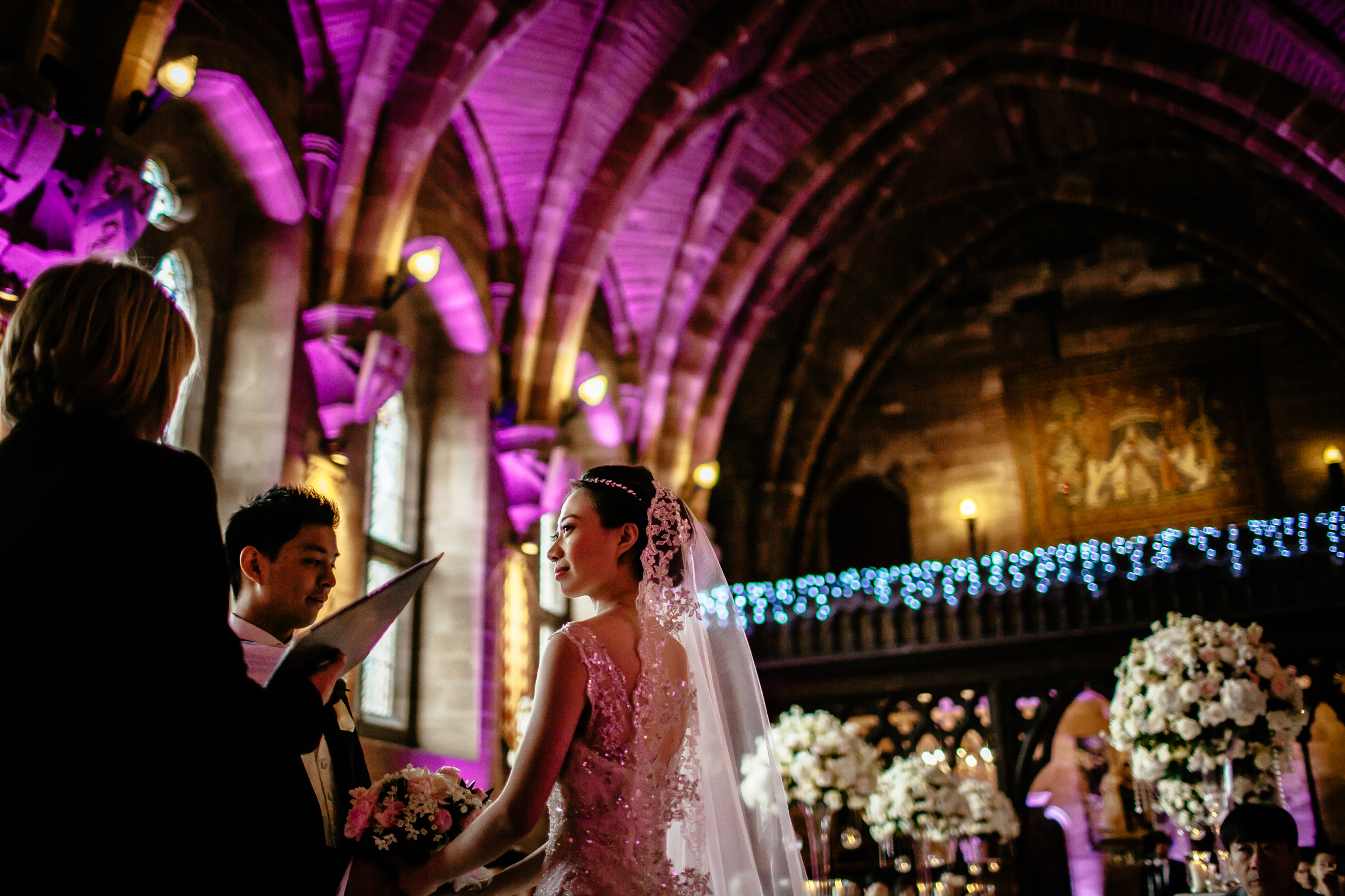 Sonia & Vincent - Sansom Photography Peckforton Castle Wedding Photography-39