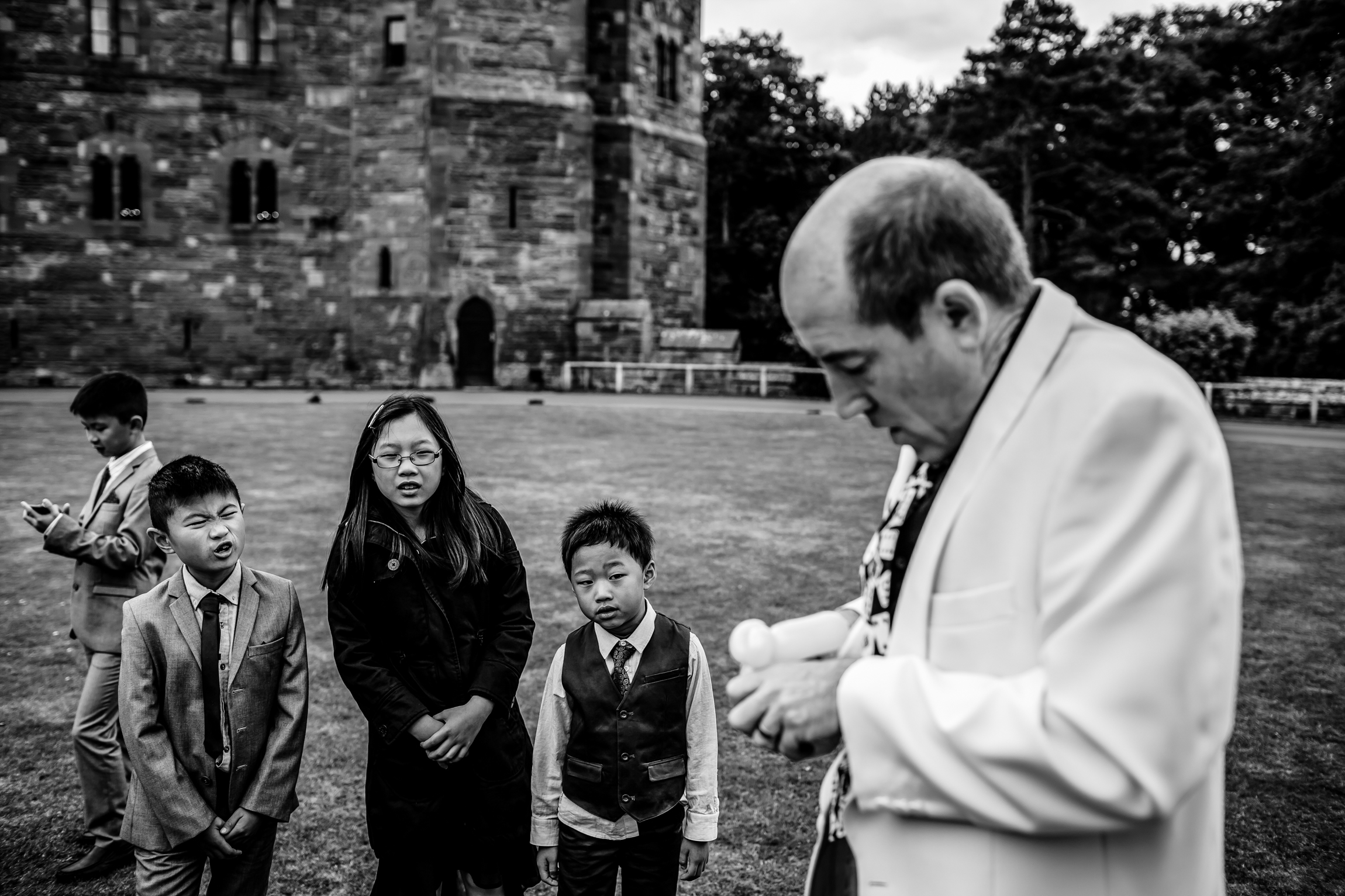 Sonia & Vincent - Sansom Photography Peckforton Castle Wedding Photography-45