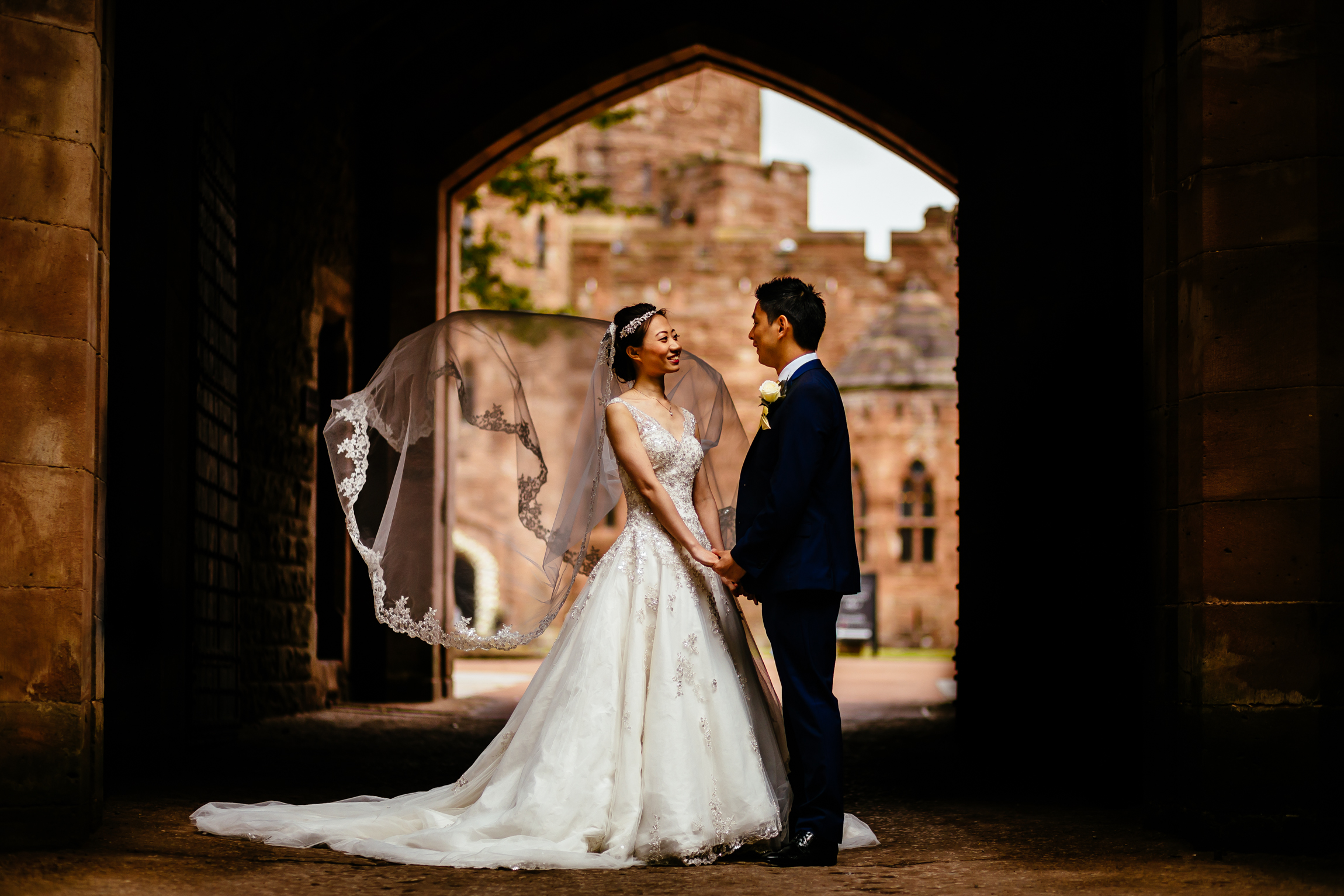 Sonia & Vincent - Sansom Photography Peckforton Castle Wedding Photography-65