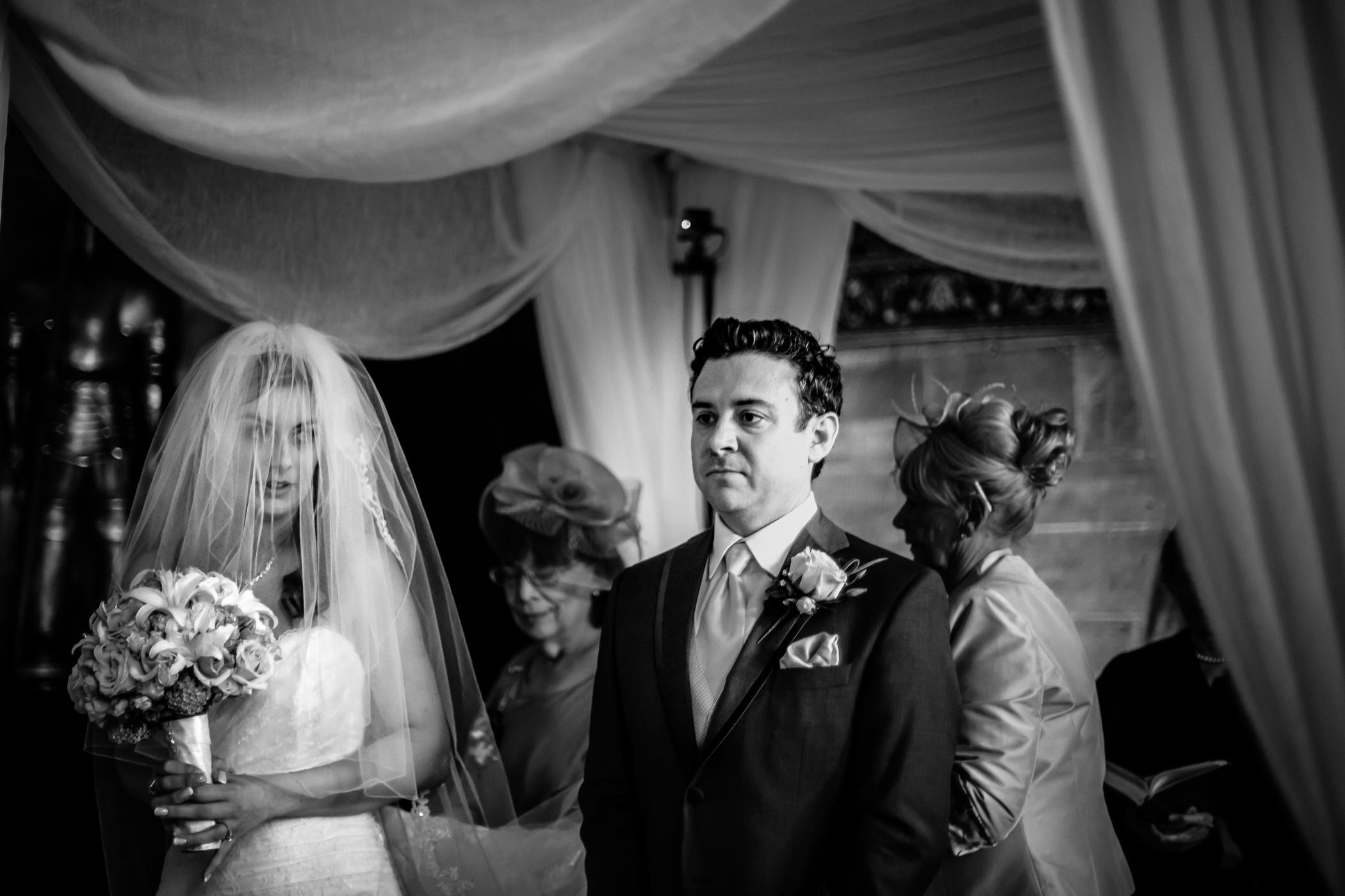 Emma & Alex Peckforton castle wedding - Sansom Photography-17