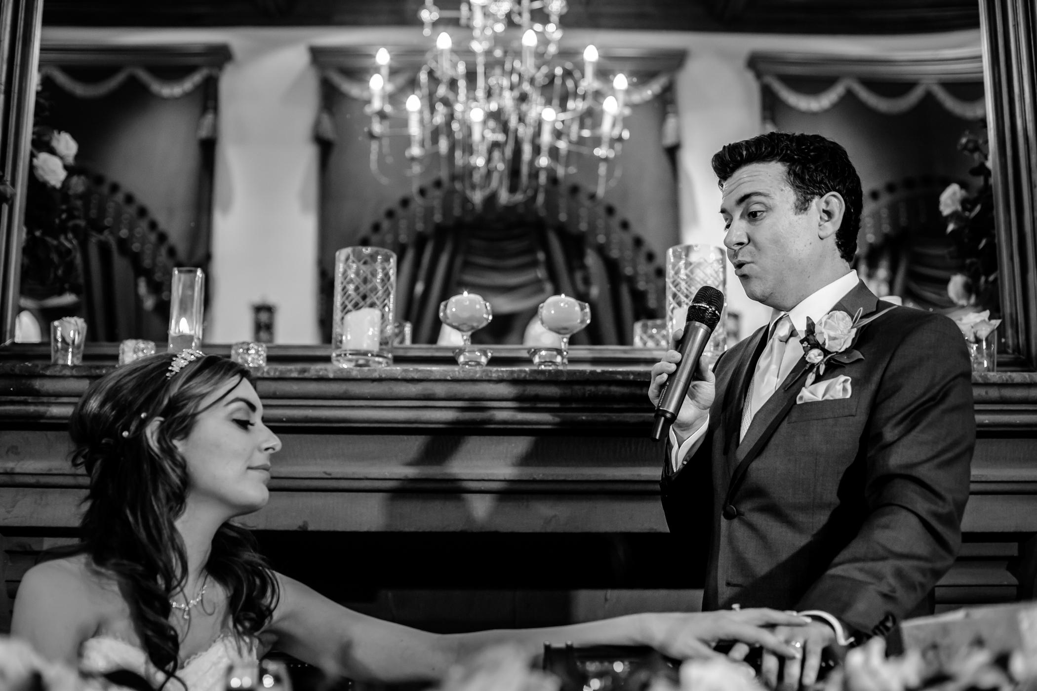 Emma & Alex Peckforton castle wedding - Sansom Photography-27
