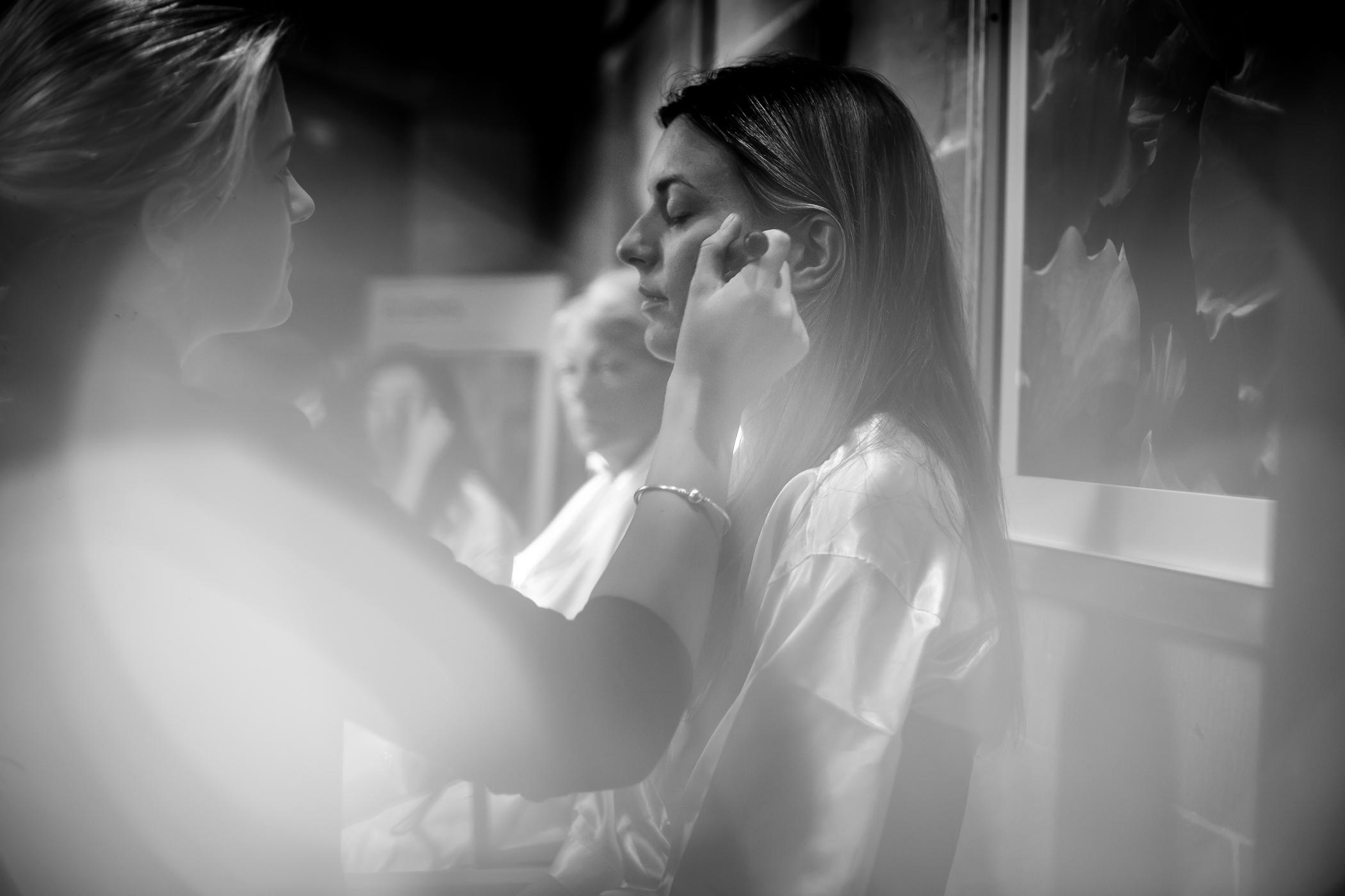 Emma & Alex Peckforton castle wedding - Sansom Photography-34