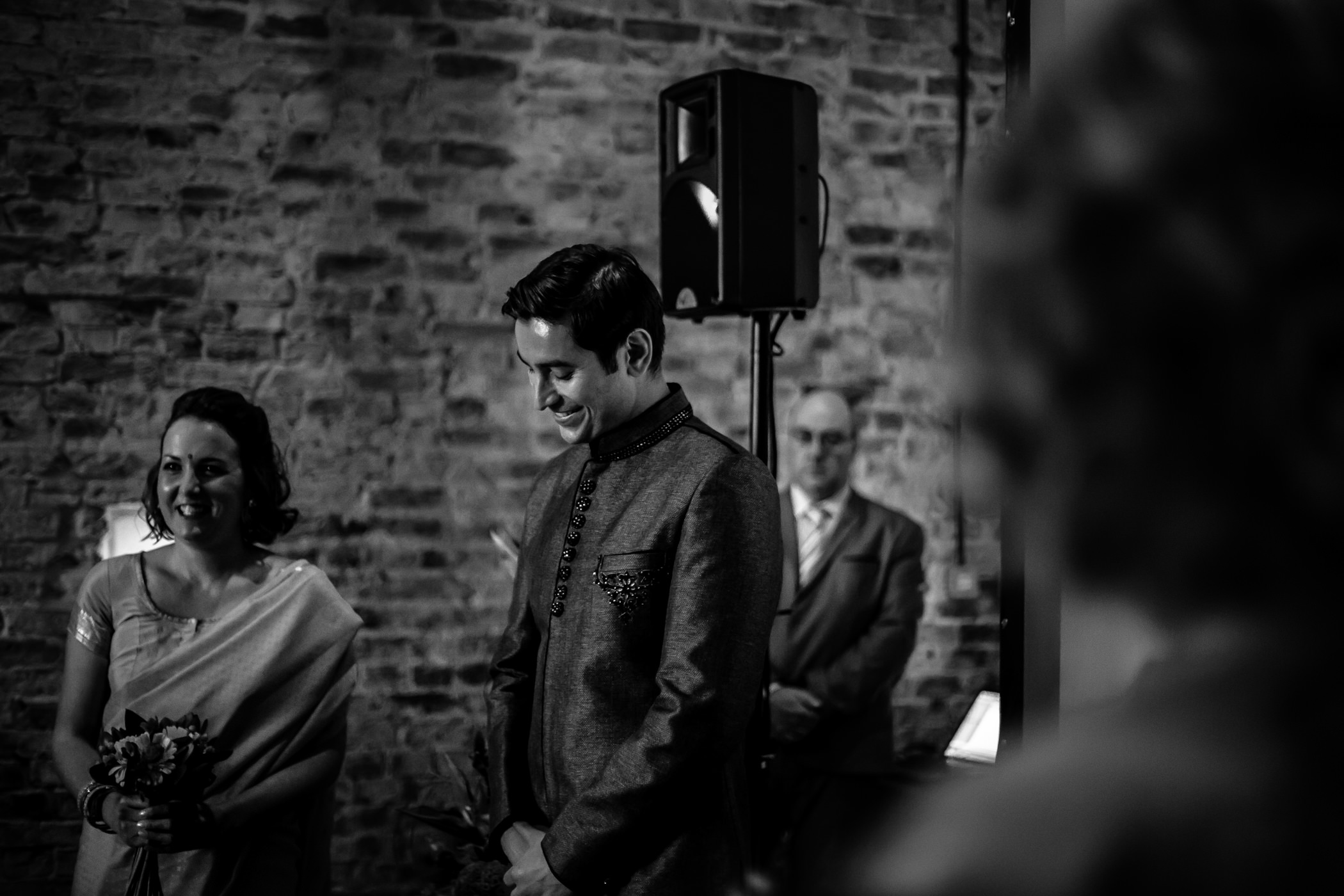 Mekhala & Gareth - Sansom Photography Barmbyfield Barns Wedding York-8