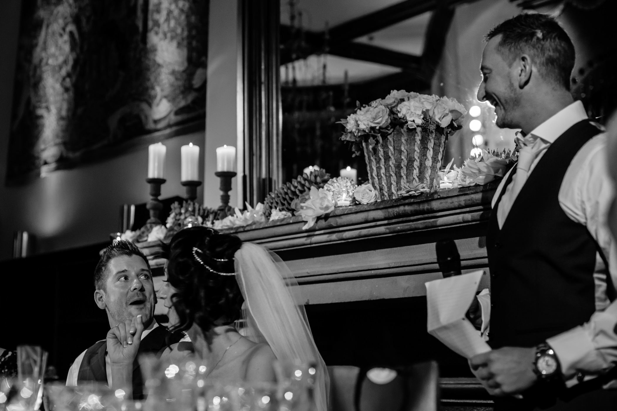 Ant & Louise NYE Peckforton Castle Wedding- Sansom Photography-106