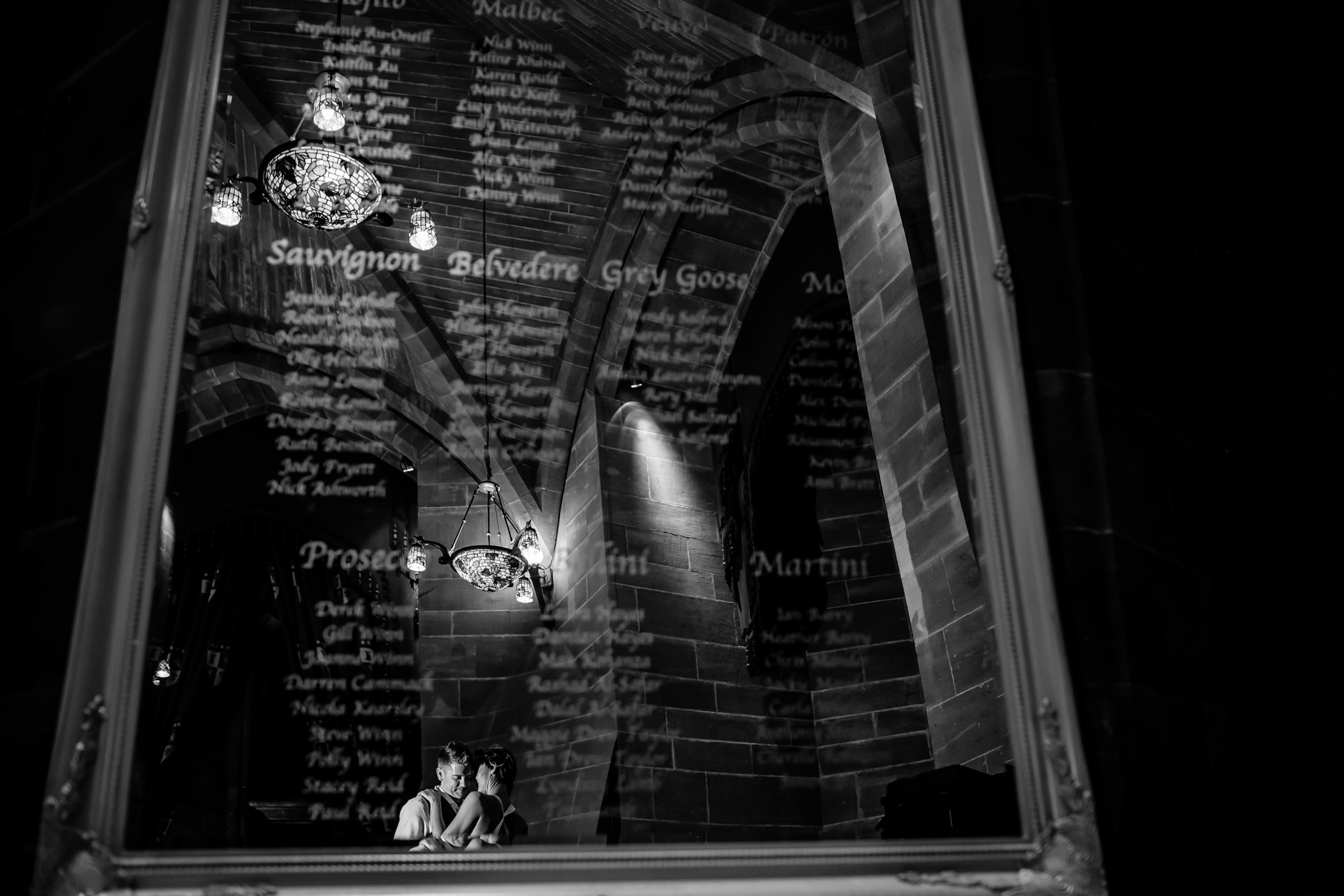 Ant & Louise NYE Peckforton Castle Wedding- Sansom Photography-26