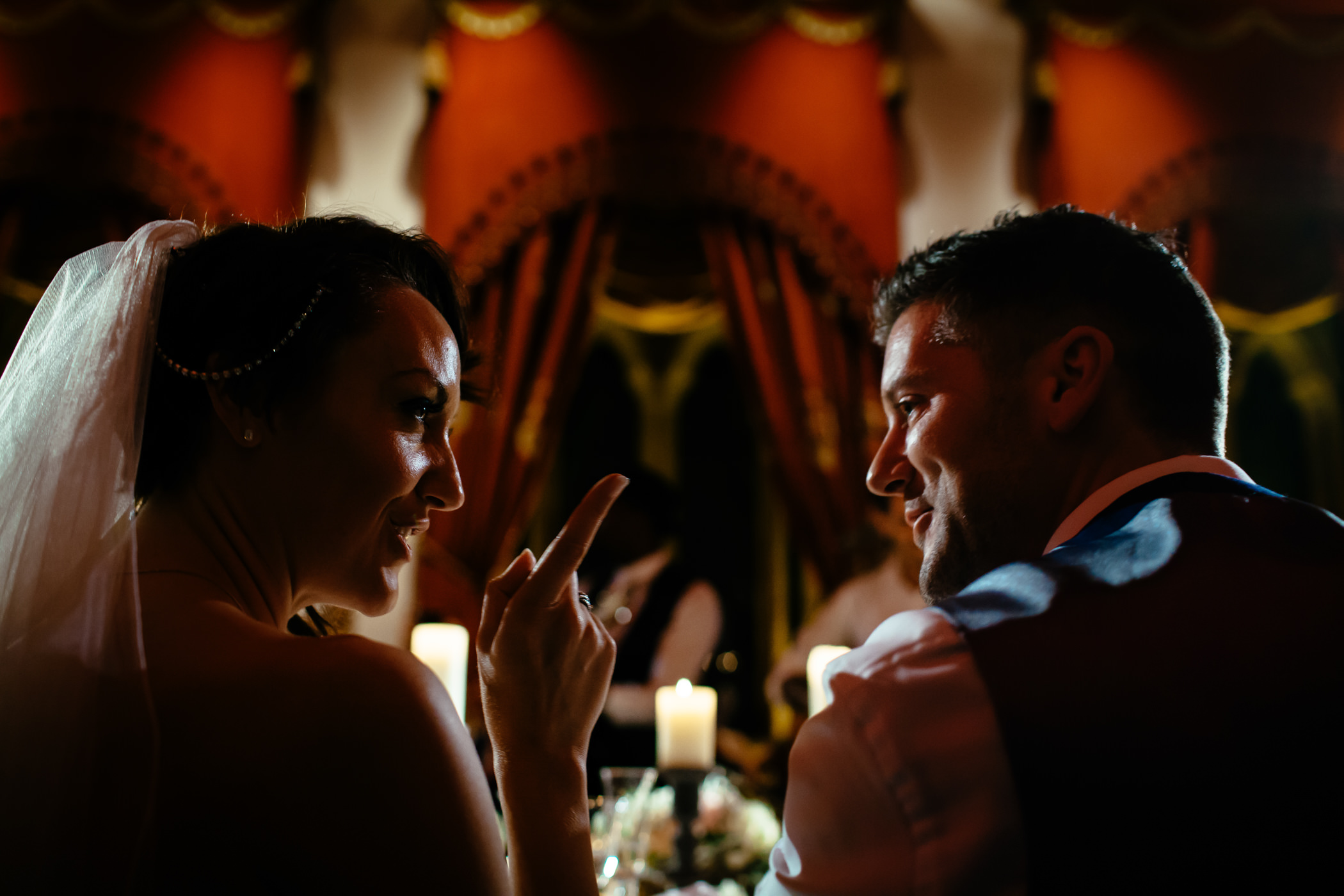 Ant & Louise NYE Peckforton Castle Wedding- Sansom Photography-49