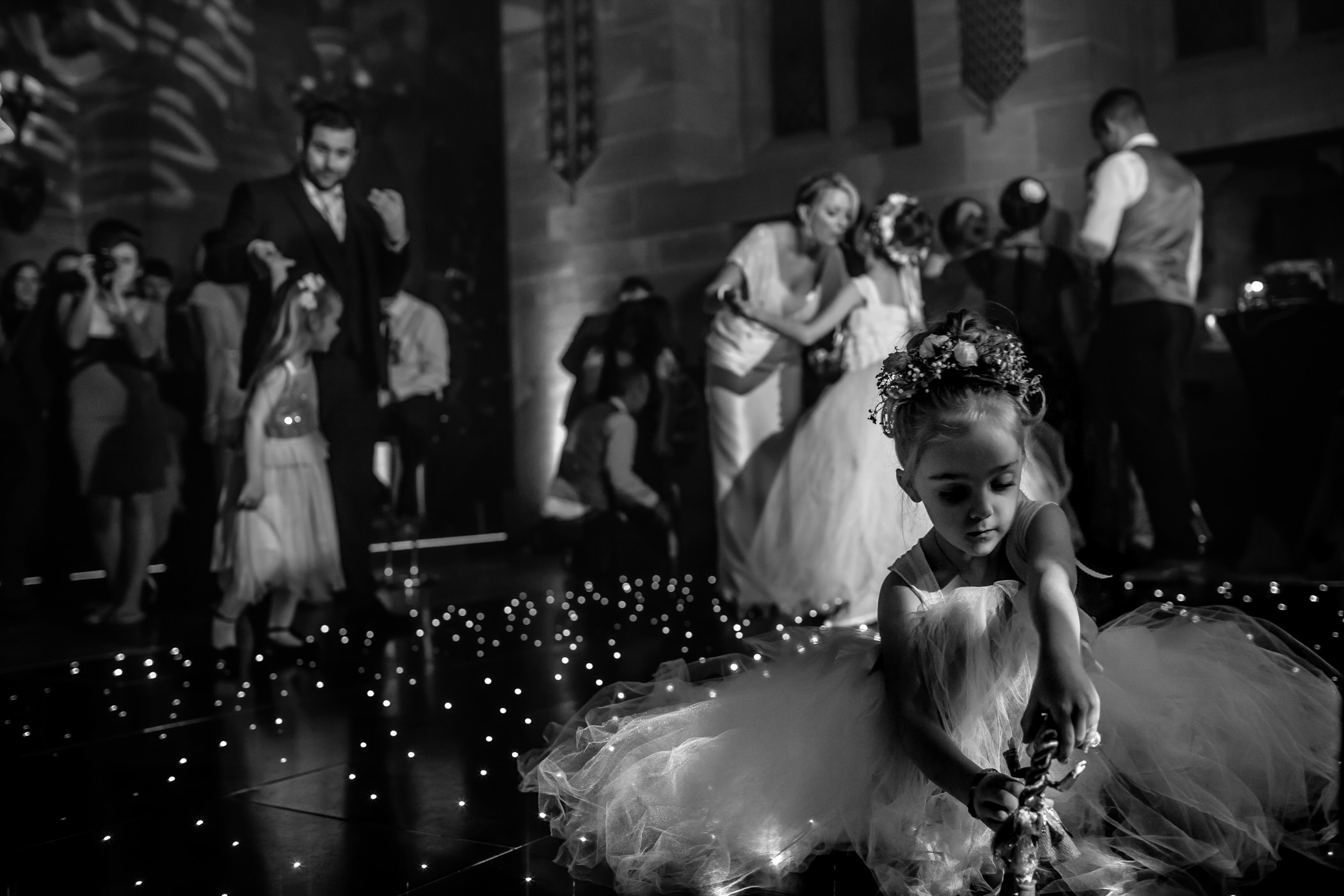 Ant & Louise NYE Peckforton Castle Wedding- Sansom Photography-63