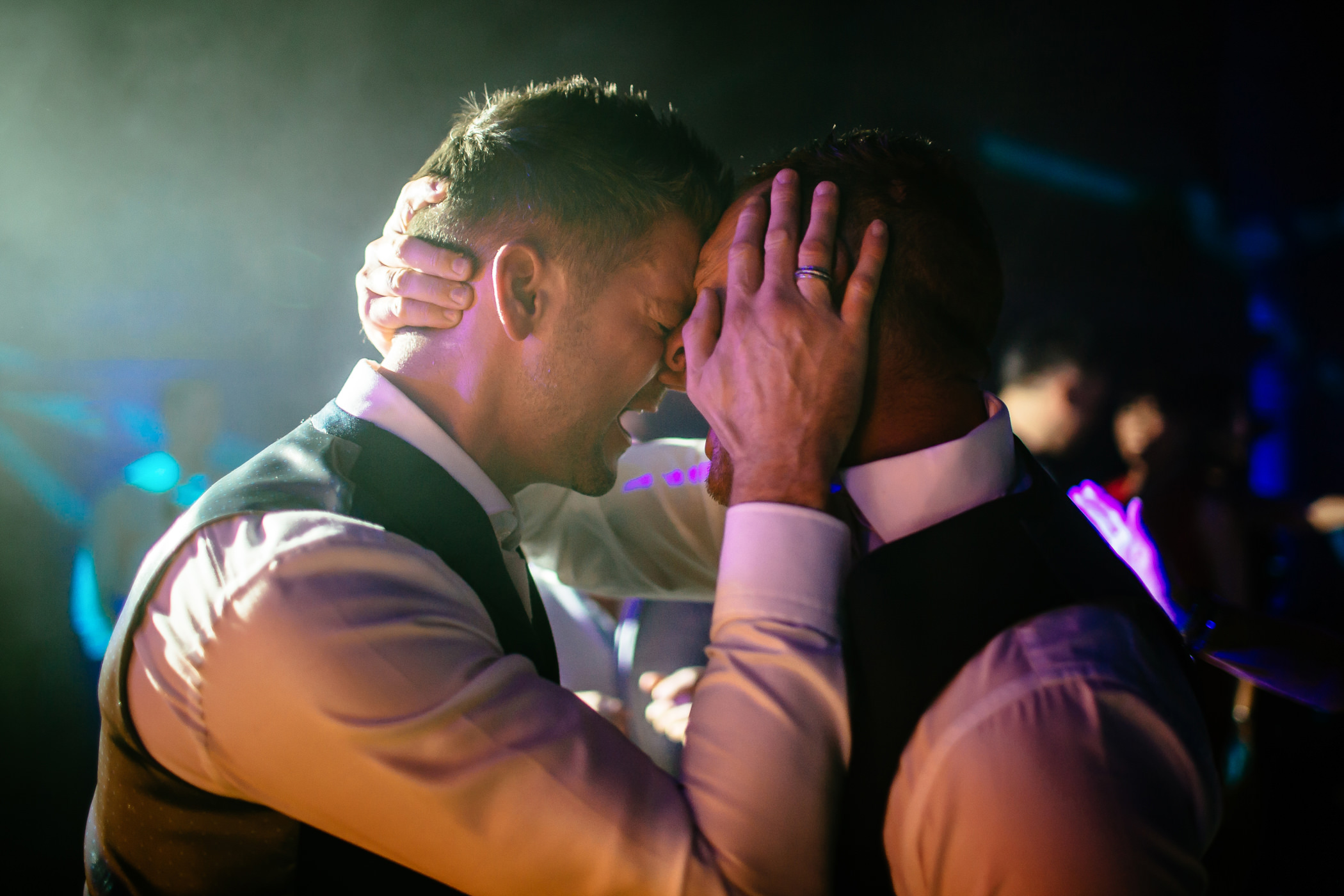Ant & Louise NYE Peckforton Castle Wedding- Sansom Photography-90