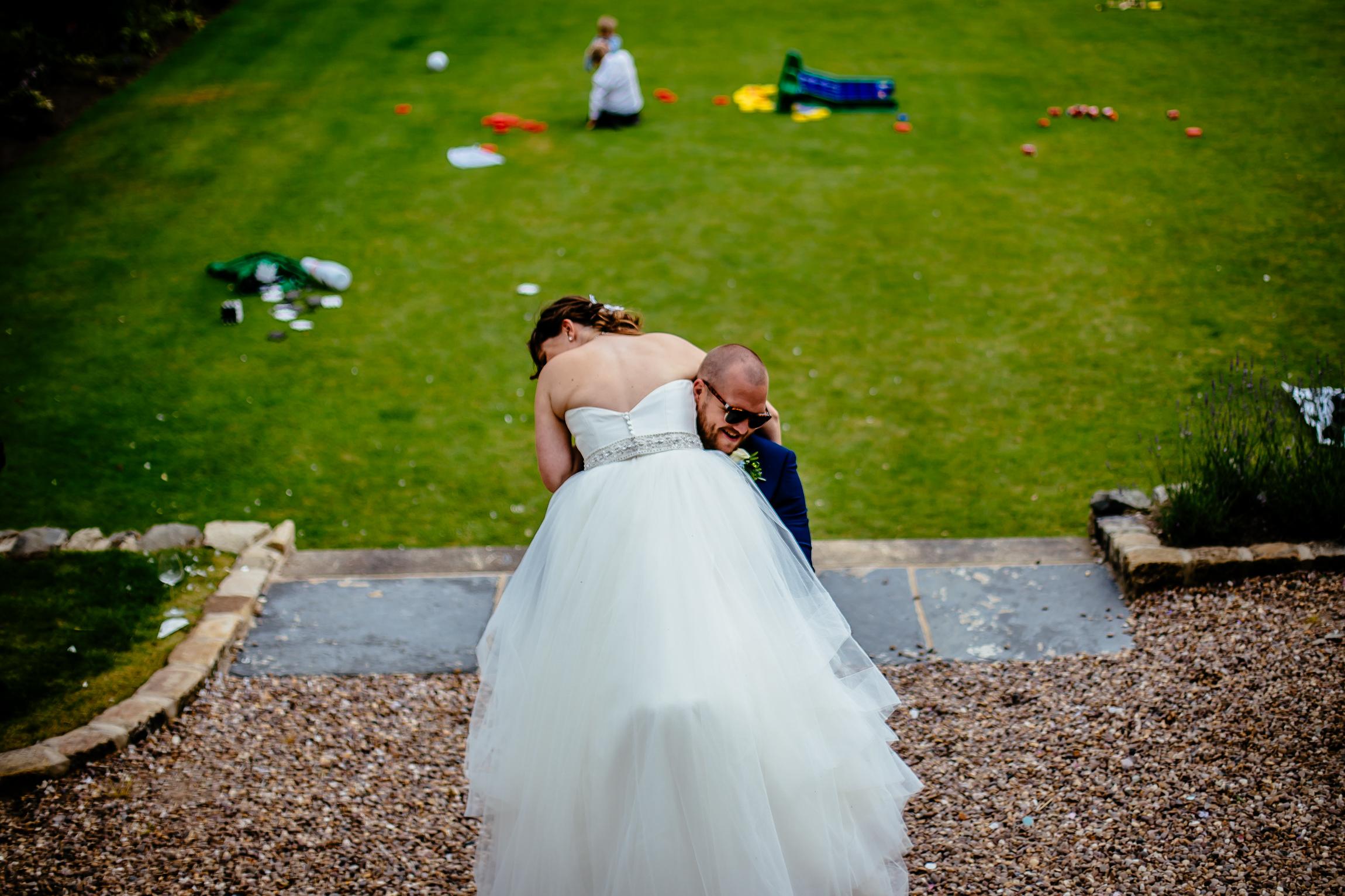 Holly & Mark - Falcon Manor wedding photography Sansom Photography-33
