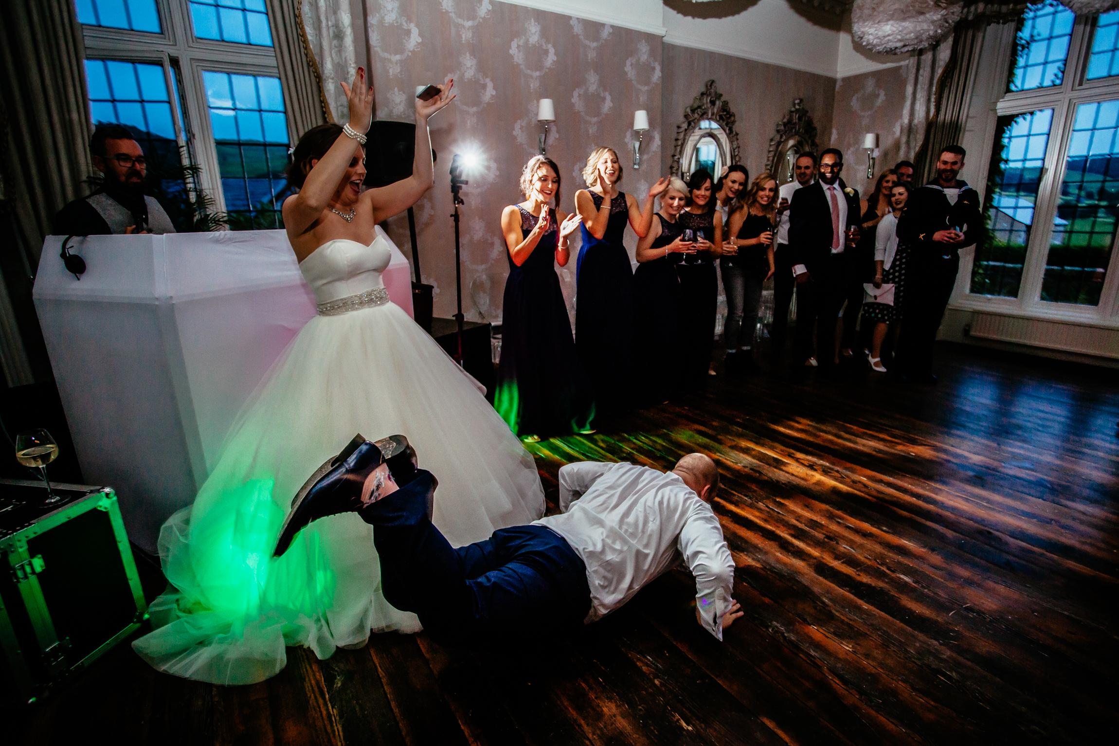 Holly & Mark - Falcon Manor wedding photography Sansom Photography-63