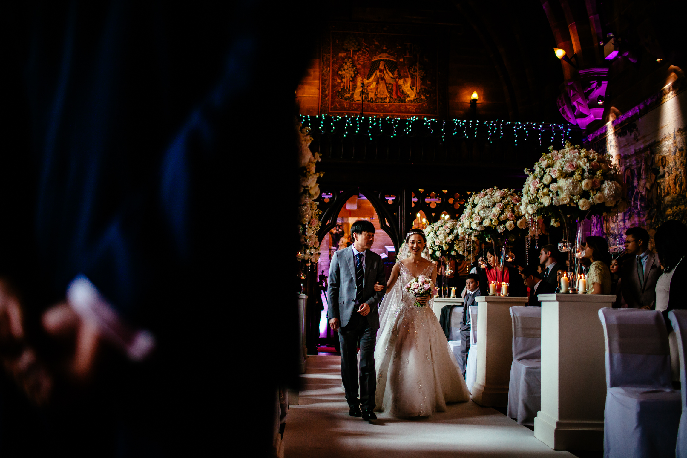 Sonia & Vincent - Sansom Photography Peckforton Castle Wedding Photography-36