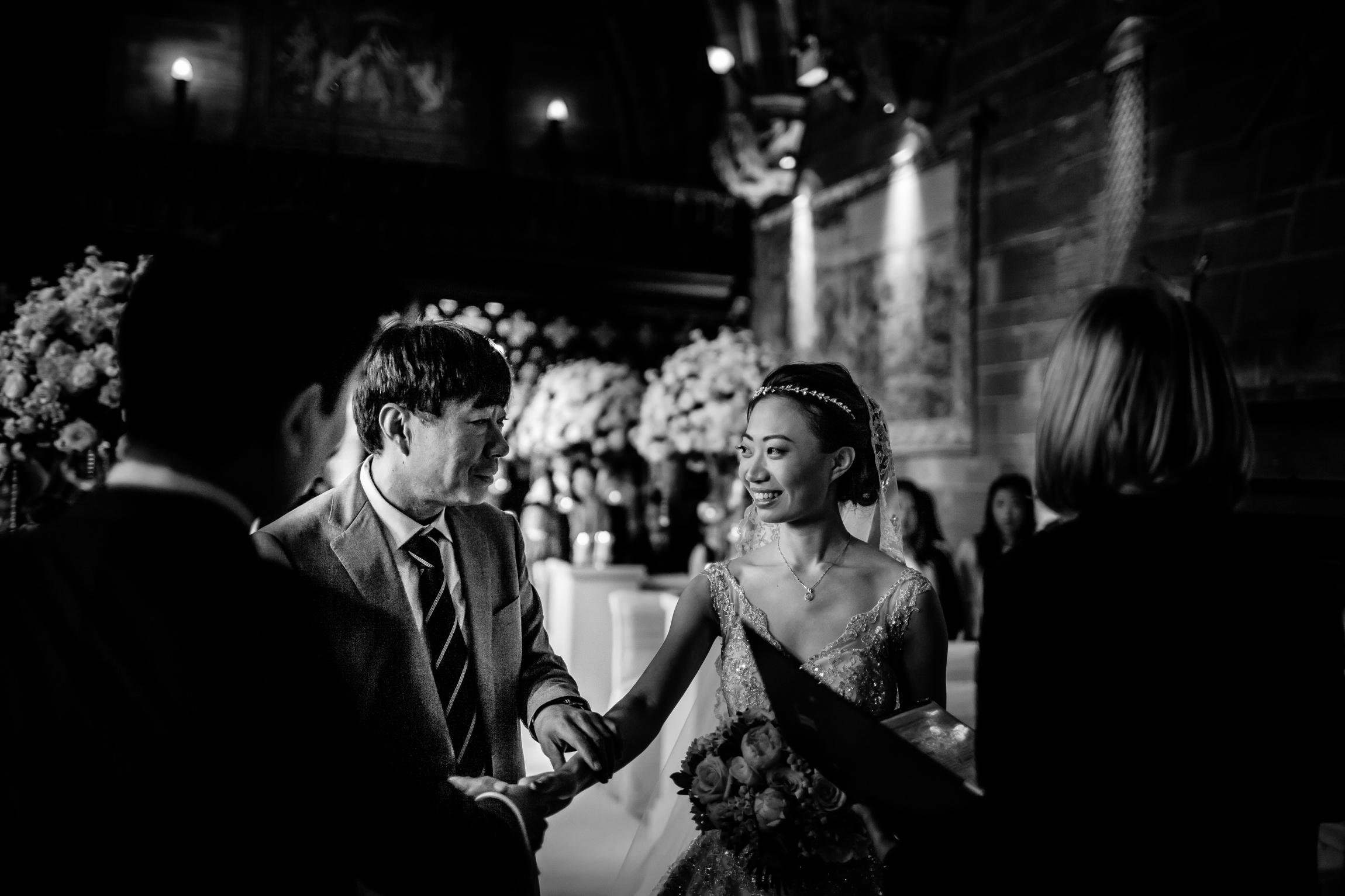 Sonia & Vincent - Sansom Photography Peckforton Castle Wedding Photography-37