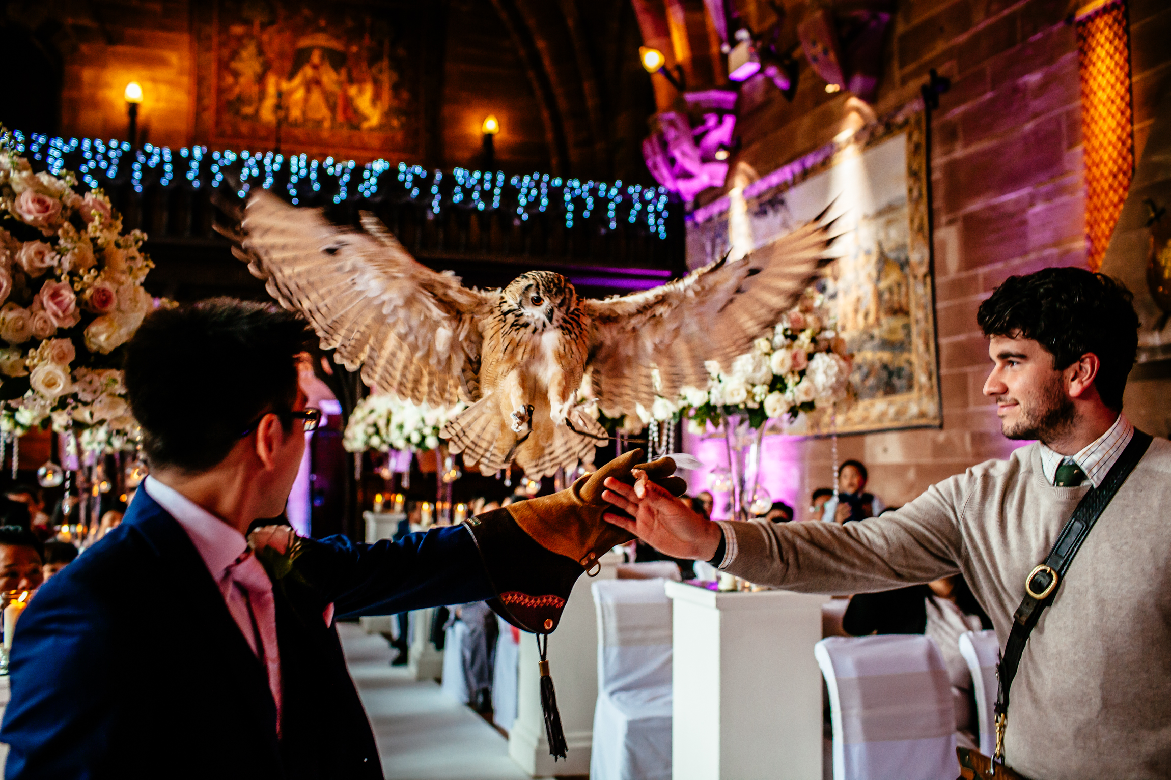 Sonia & Vincent - Sansom Photography Peckforton Castle Wedding Photography-41