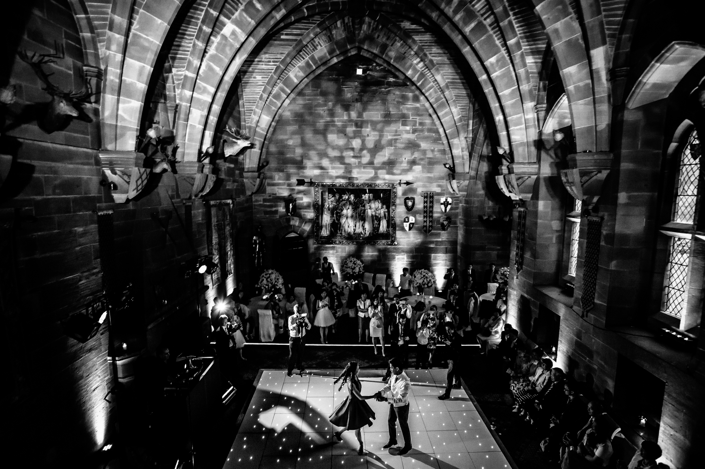 Sonia & Vincent - Sansom Photography Peckforton Castle Wedding Photography-44
