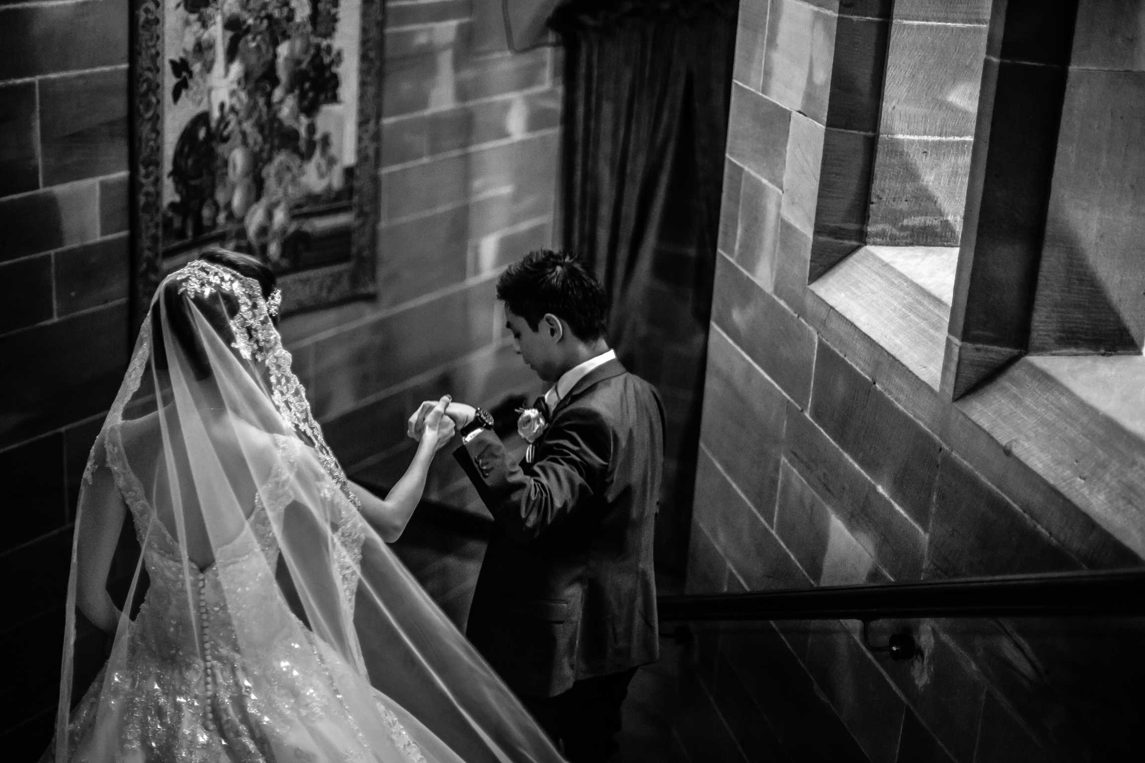 Sonia & Vincent - Sansom Photography Peckforton Castle Wedding Photography-55