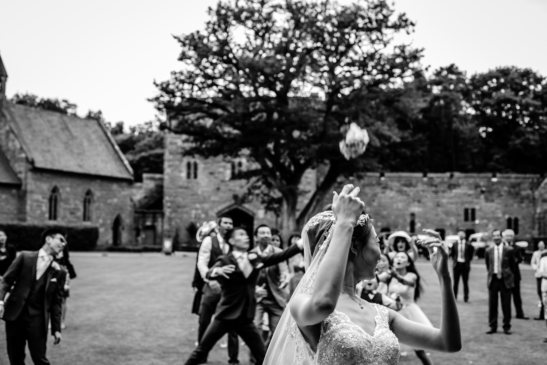 Sonia & Vincent - Sansom Photography Peckforton Castle Wedding Photography-64
