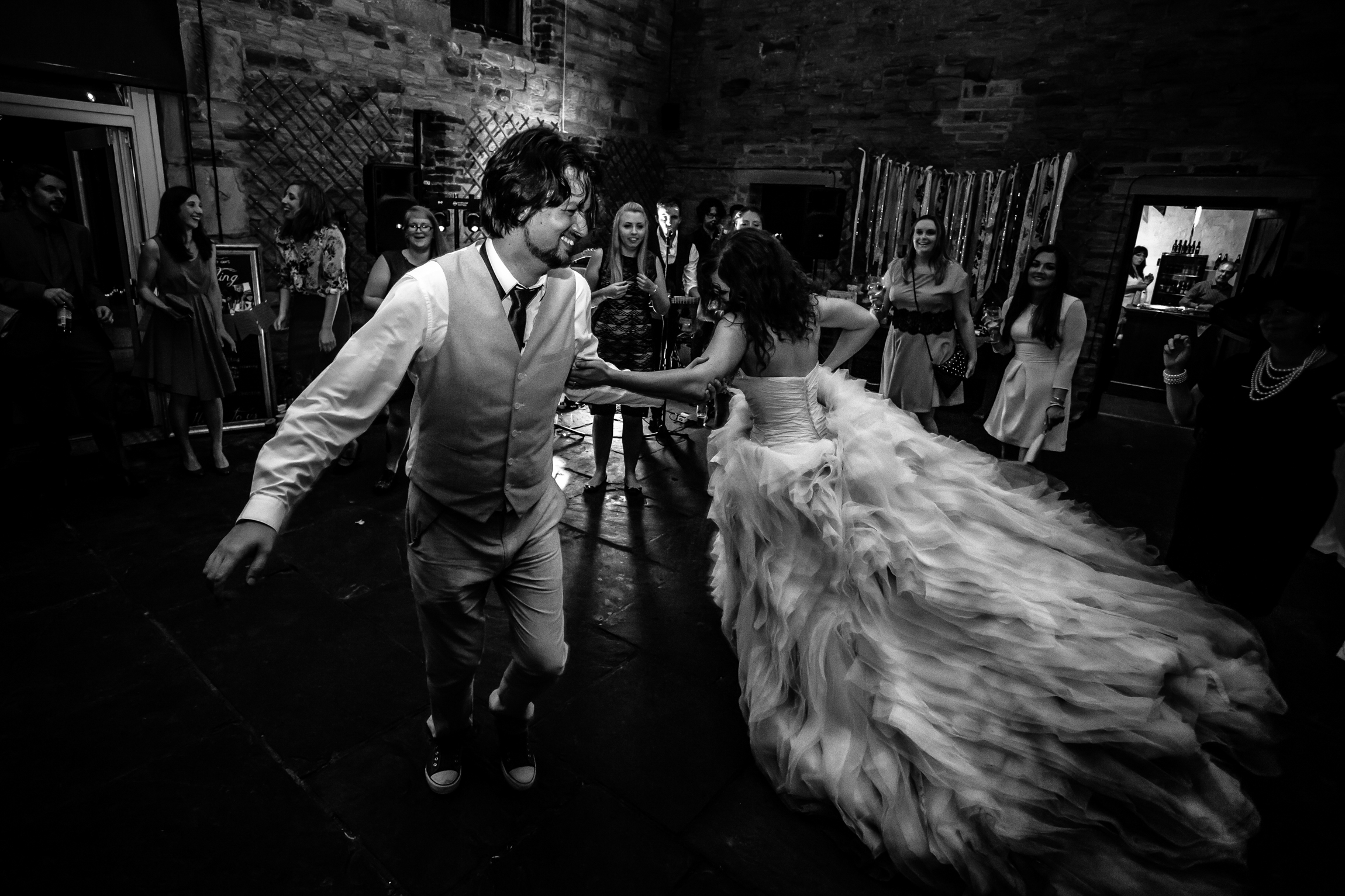 Bex & Dom - Sansom Photography Oakwell Hall Wedding Photography-36