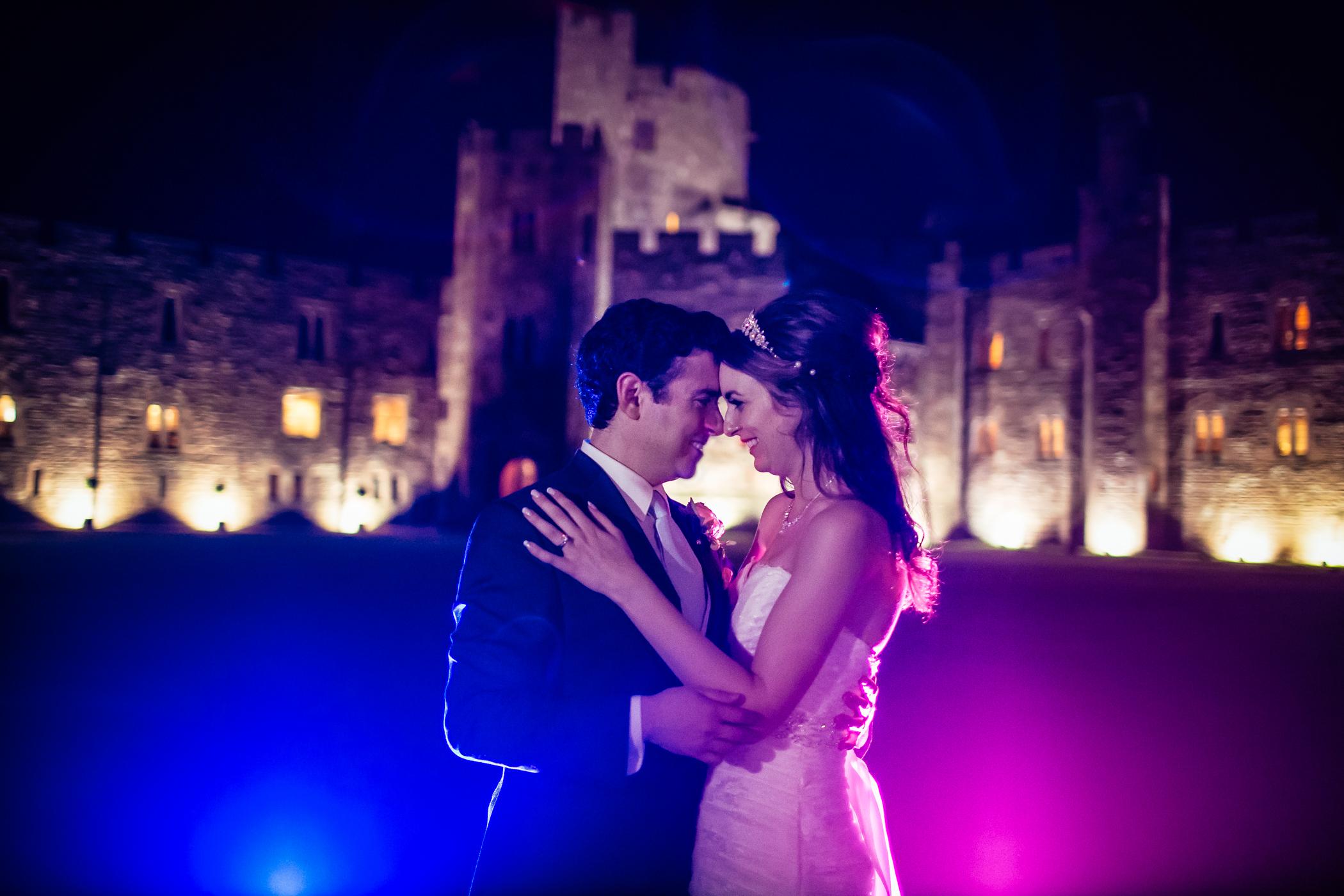 Emma & Alex Peckforton castle wedding - Sansom Photography-111