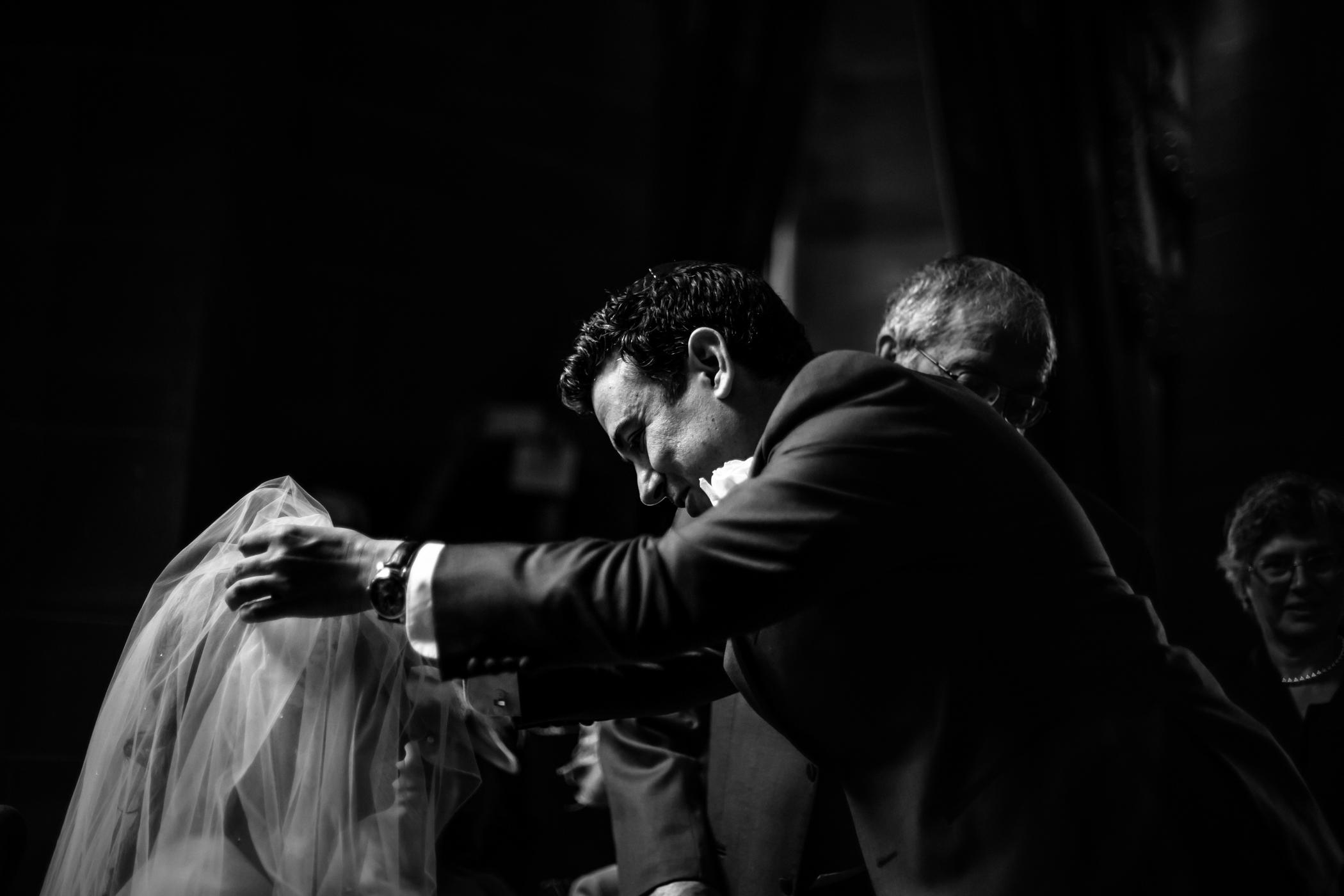 Emma & Alex Peckforton castle wedding - Sansom Photography-12