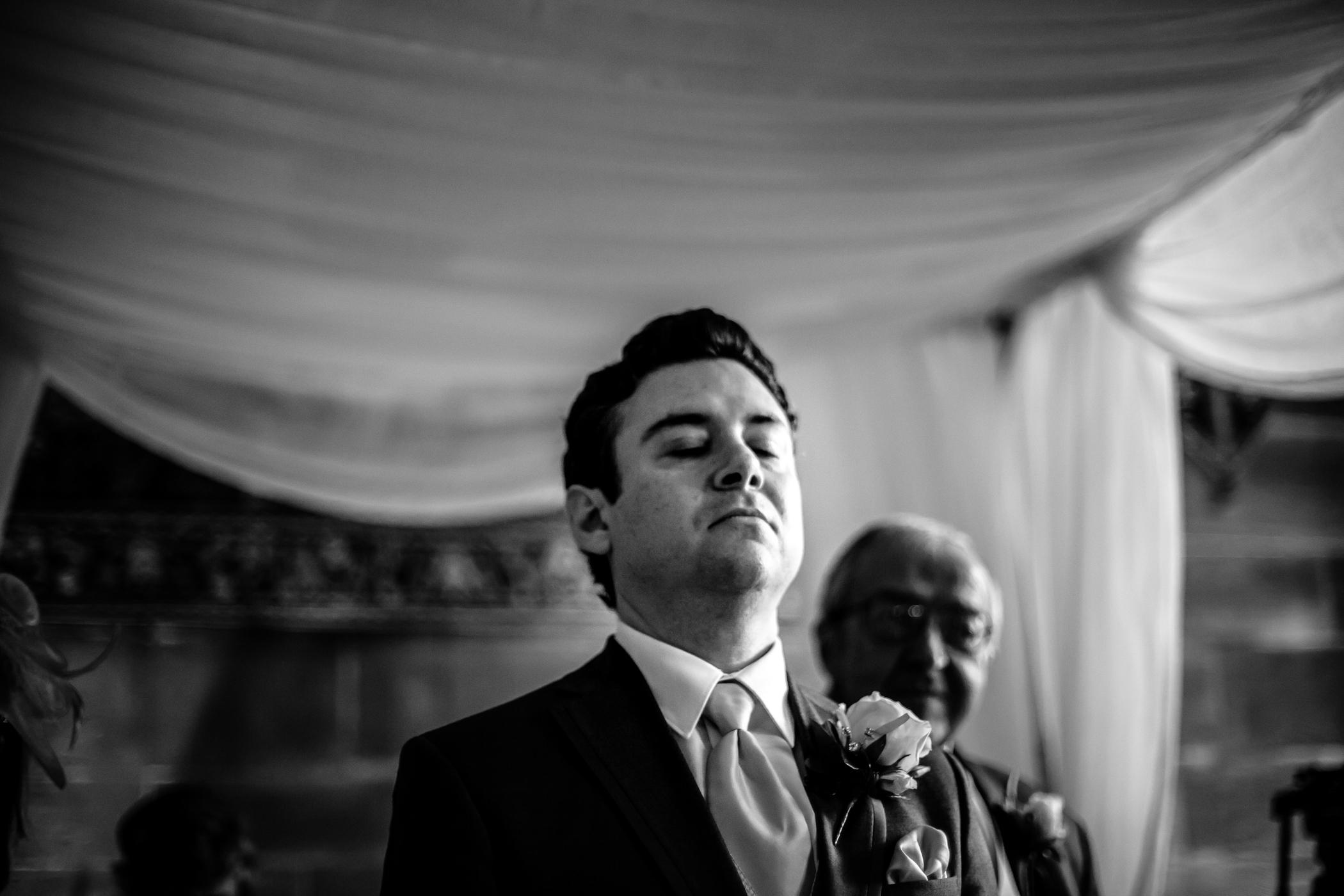 Emma & Alex Peckforton castle wedding - Sansom Photography-14