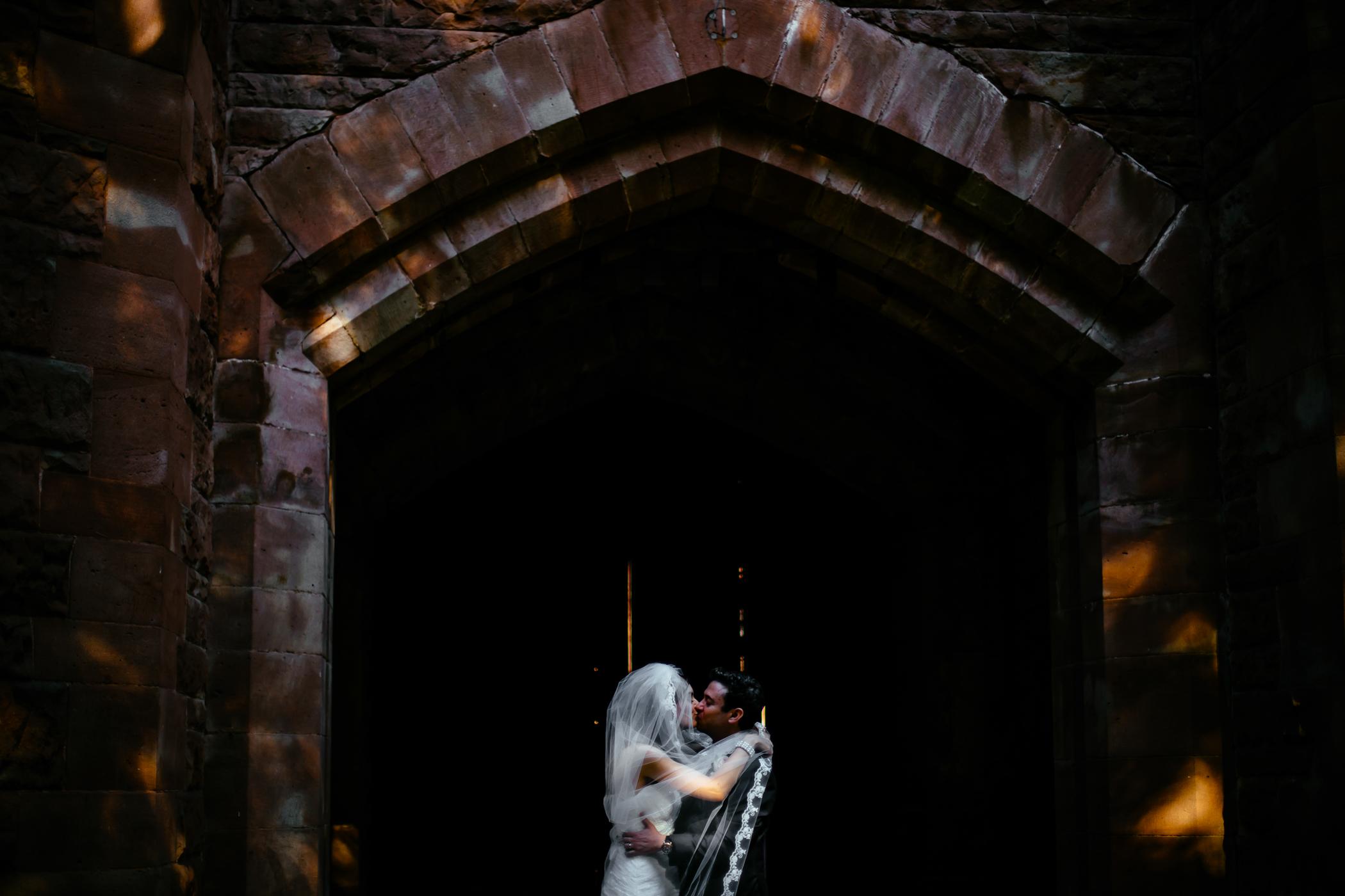 Emma & Alex Peckforton castle wedding - Sansom Photography-24