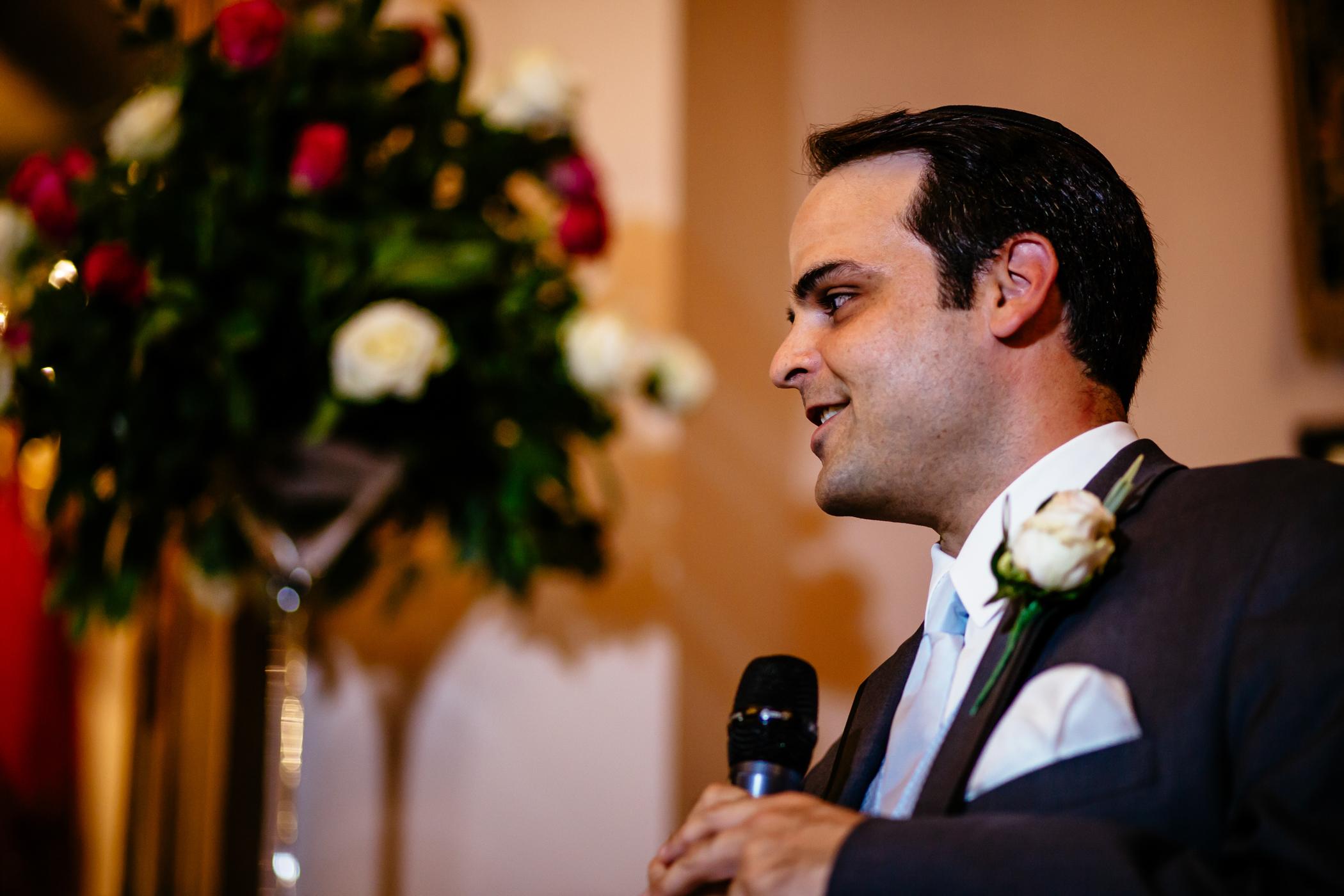 Emma & Alex Peckforton castle wedding - Sansom Photography-28