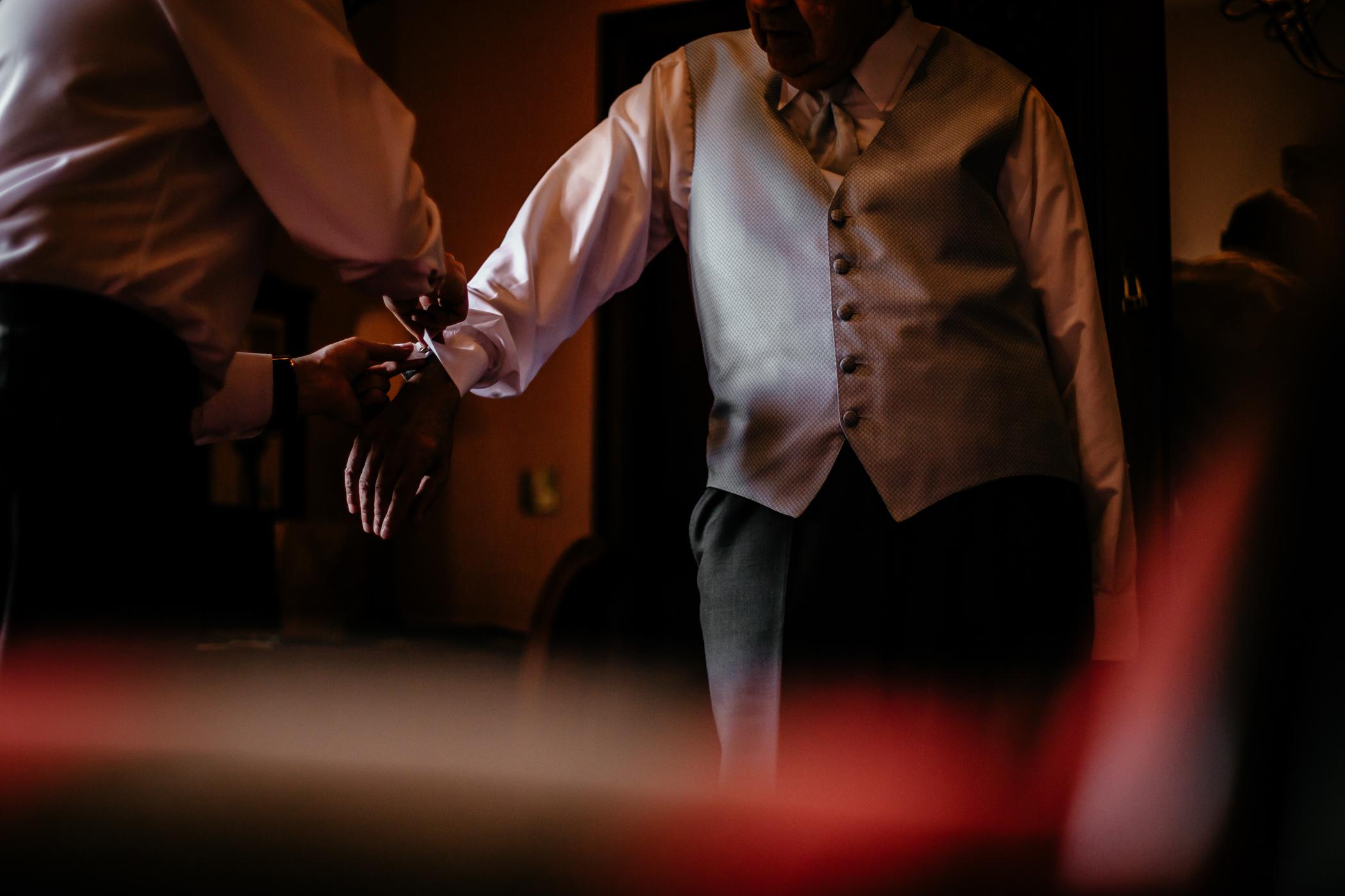 Emma & Alex Peckforton castle wedding - Sansom Photography-3