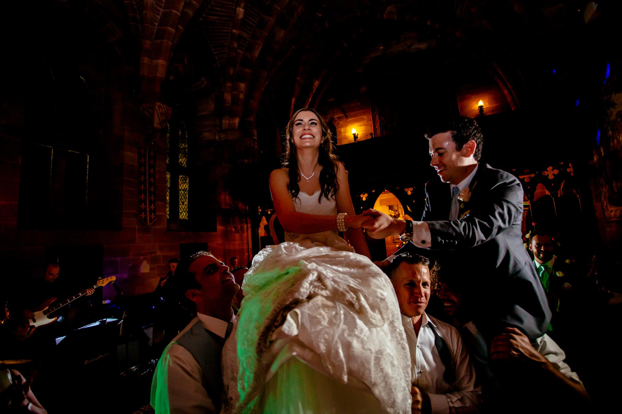 Emma & Alex Peckforton castle wedding - Sansom Photography-33