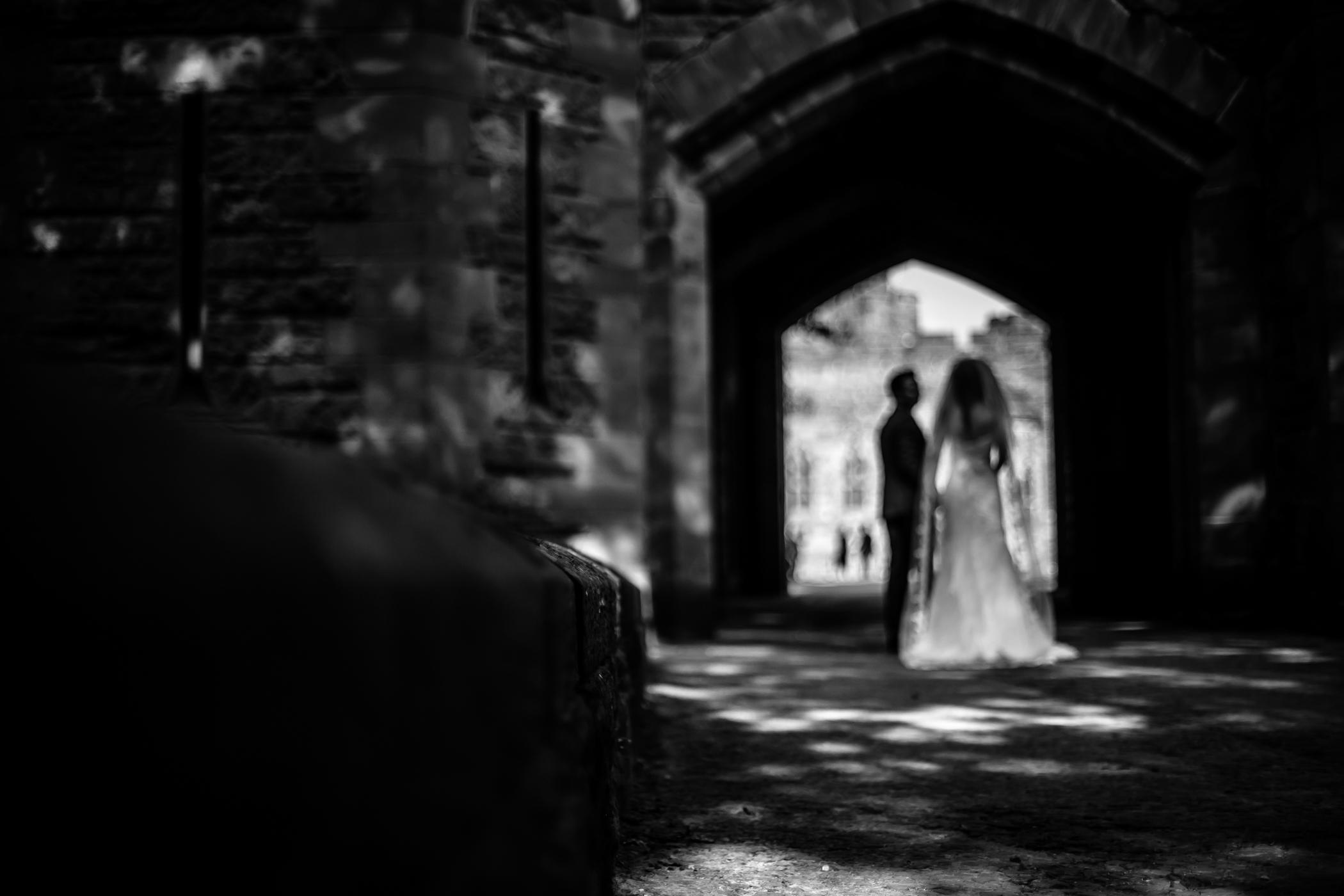 Emma & Alex Peckforton castle wedding - Sansom Photography-45